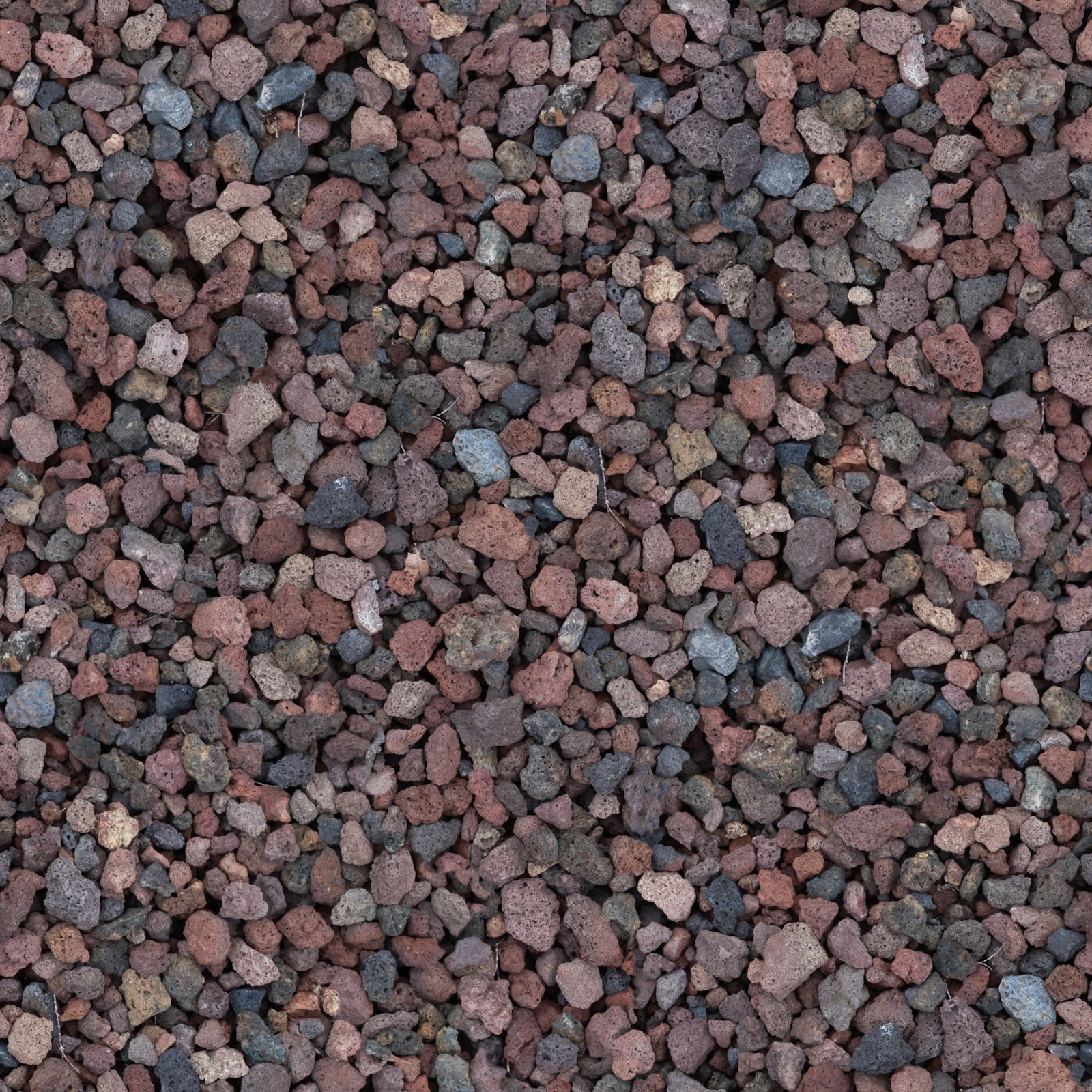 High Resolution Seamless Textures: Small coloured stones texture