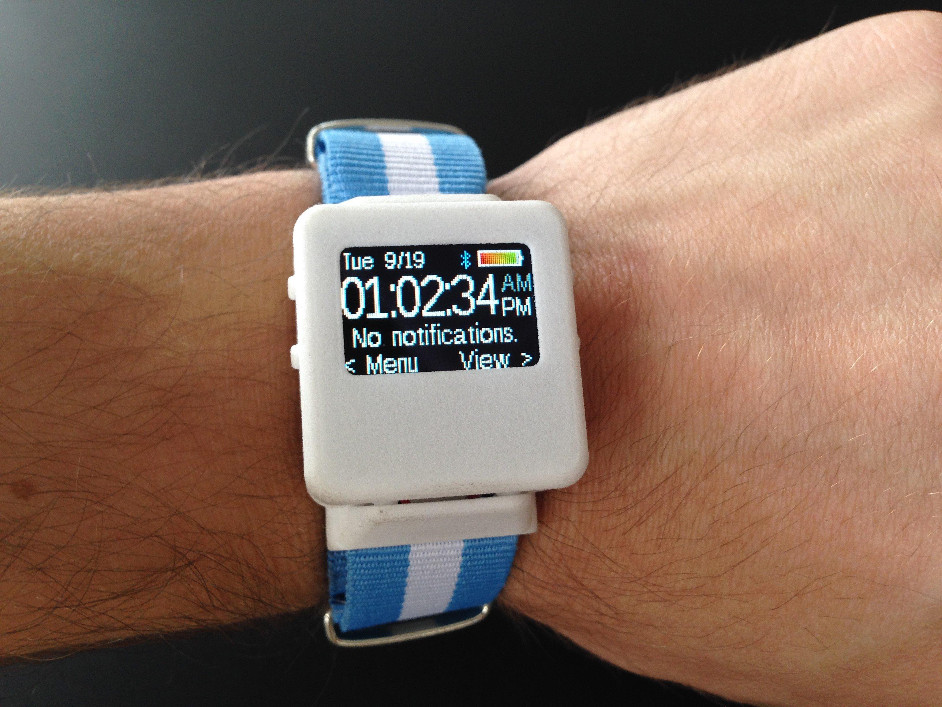 TinyScreen Smart Watch Kit - TinyCircuits