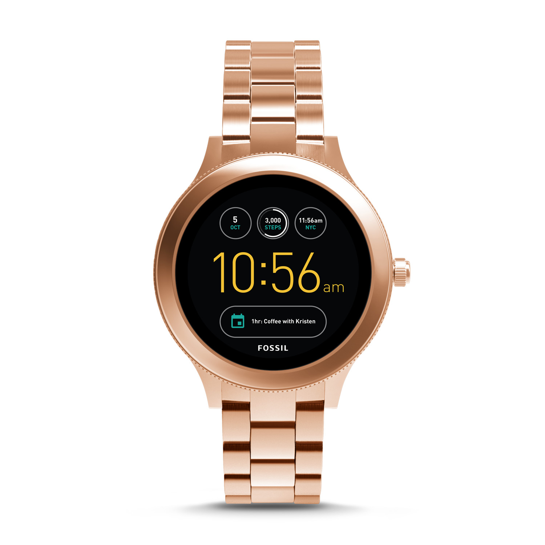Gen 3 Smartwatch - Q Venture Rose Gold-Tone Stainless Steel - Fossil