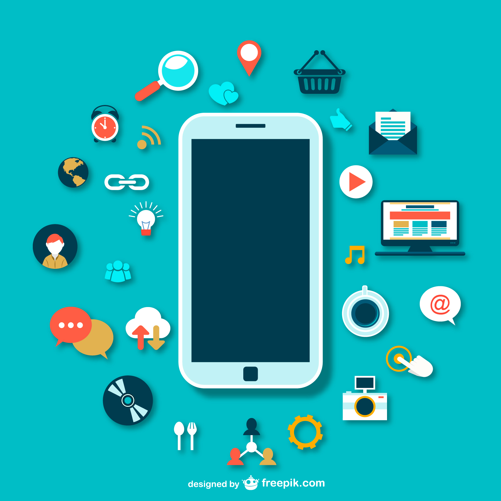 Work communication revolves around the smartphone | Red e App