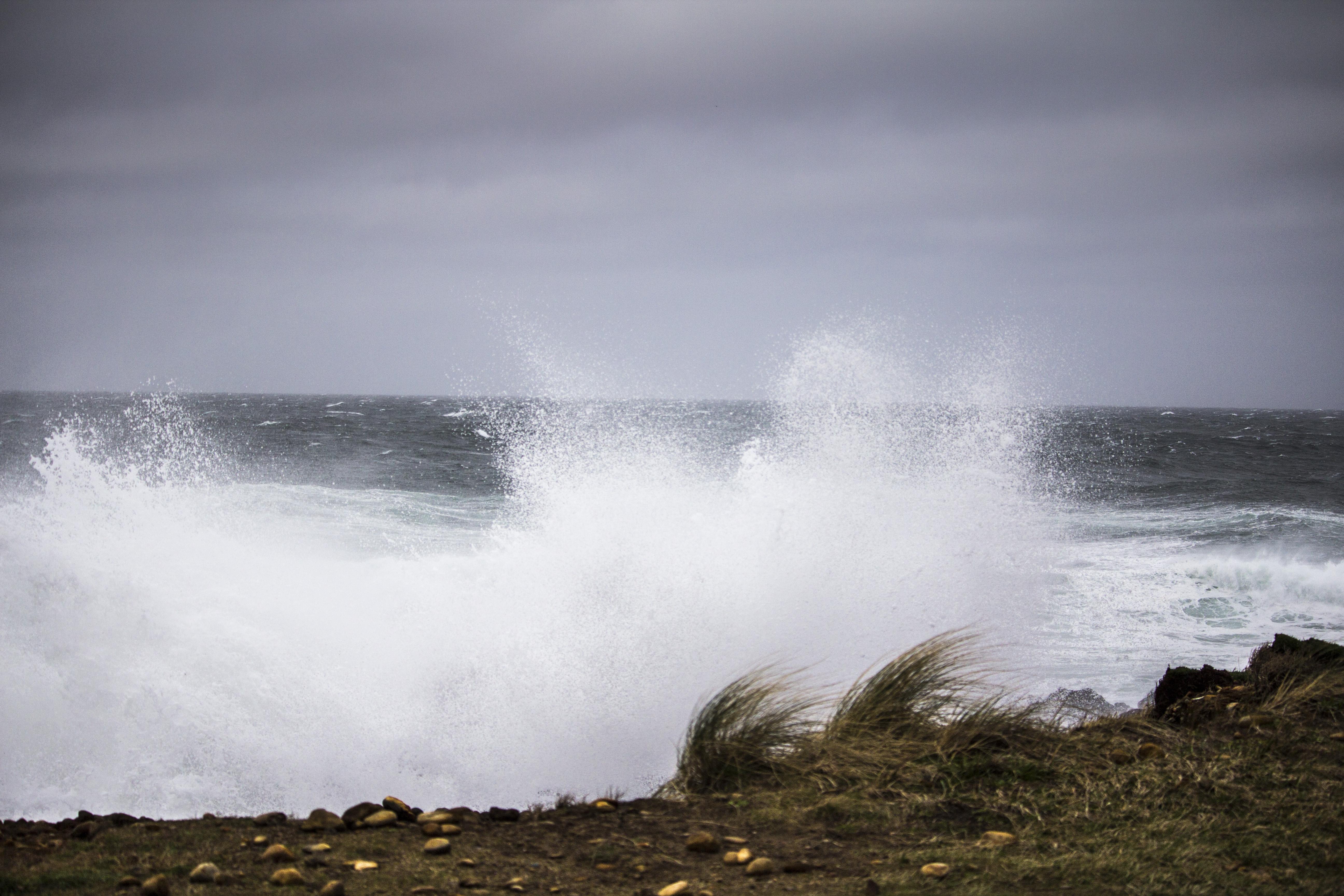 Smelt Sands State Park, Oregon, Clouds, Coast, Landscape, Ocean, HQ Photo