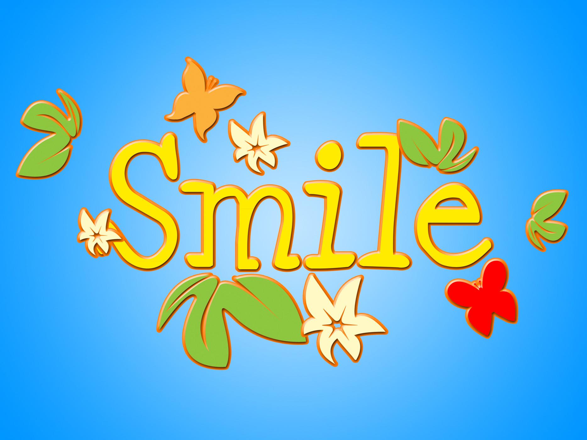 Smile Flowers Means Florist Face And Bouquet, Bloom, Smile, Positivity, Positive, HQ Photo