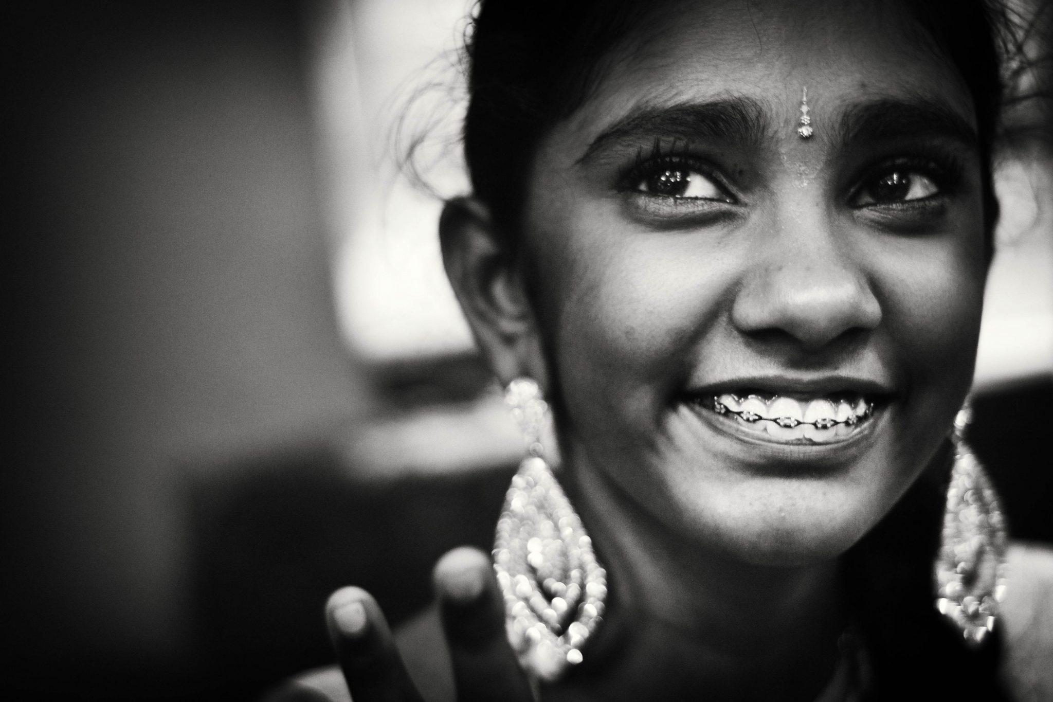 Smiling through memories photo