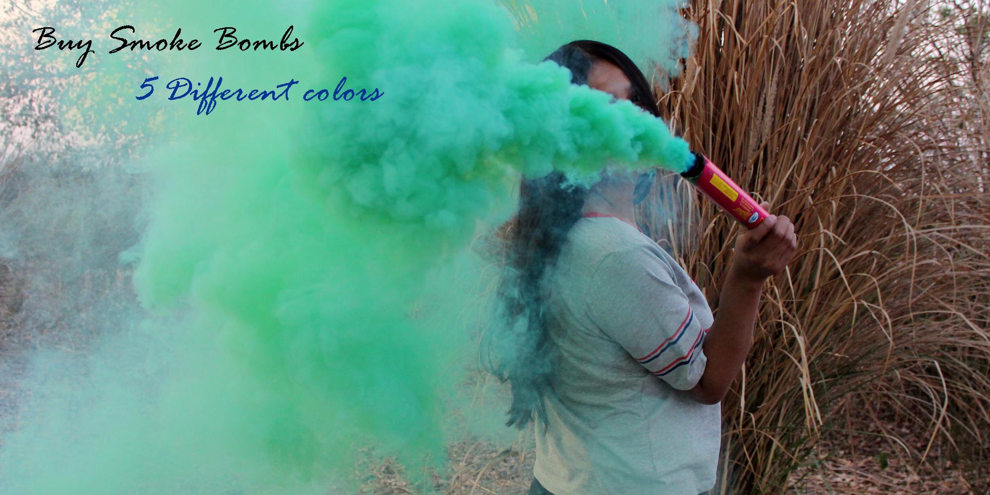Smoke stick photo