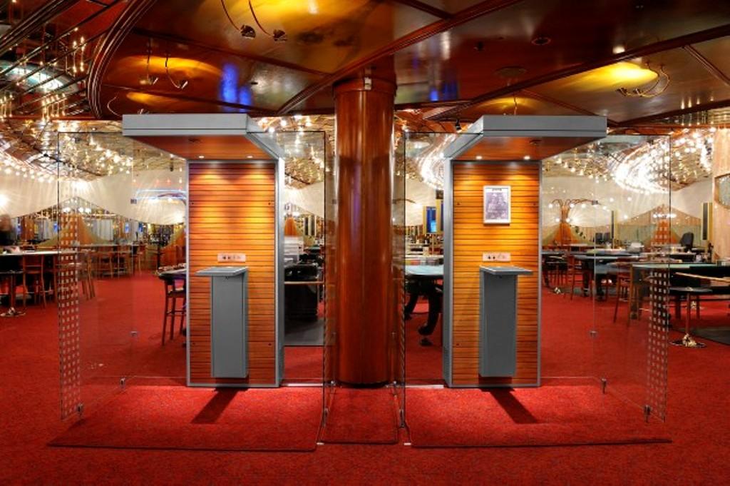 Smoke cabins in casinos photo