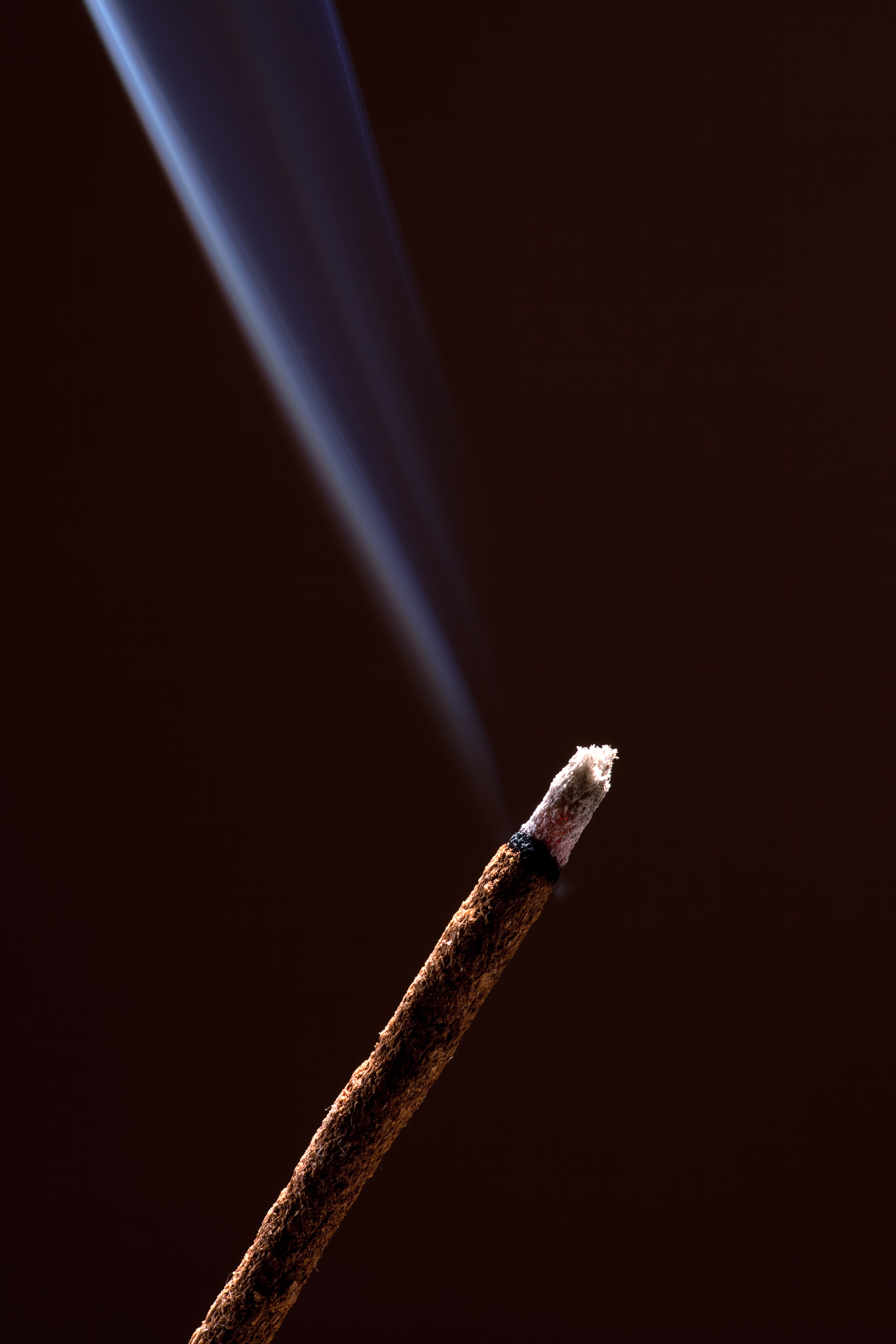 Smoke from Incense Stick, Aromatherapy, Nobody, Light, Macro, HQ Photo