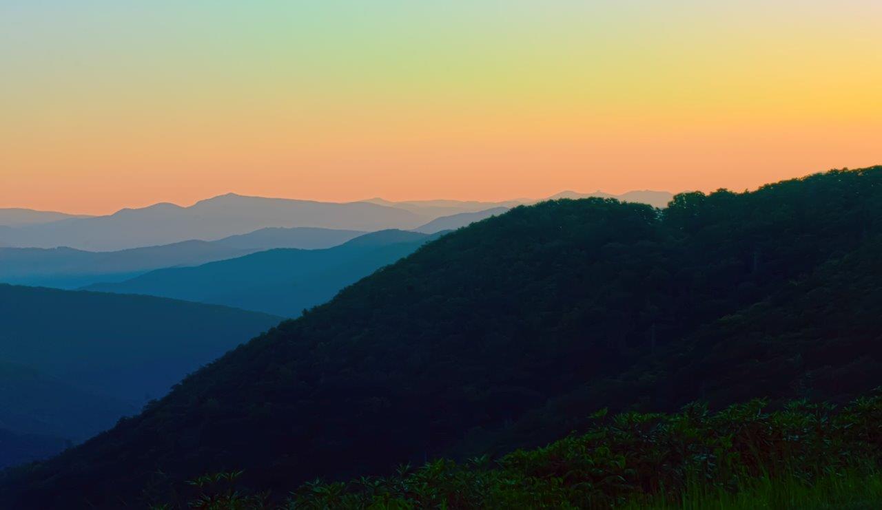 Smoky Mountains, Blue, Summer, Ridge, Scenery, HQ Photo