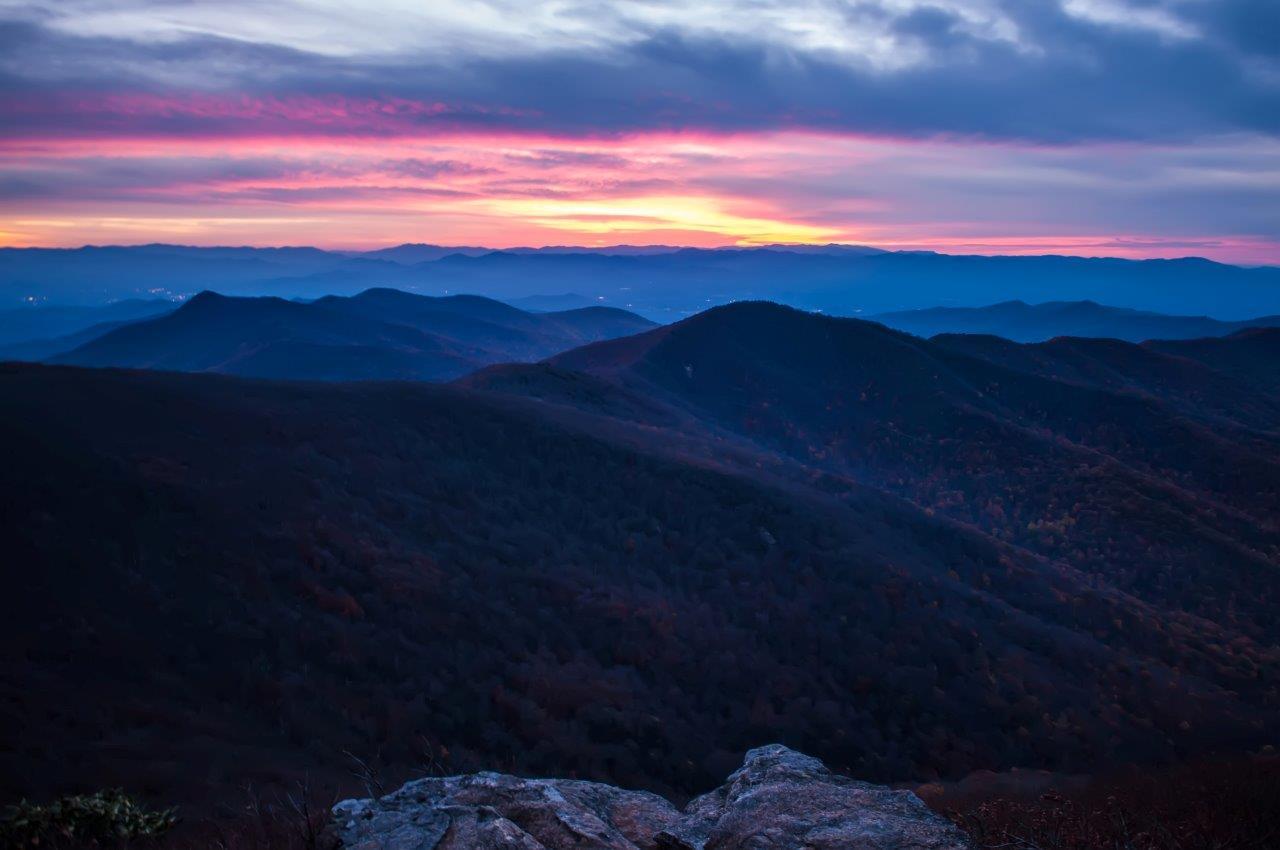 Smoky mountains photo