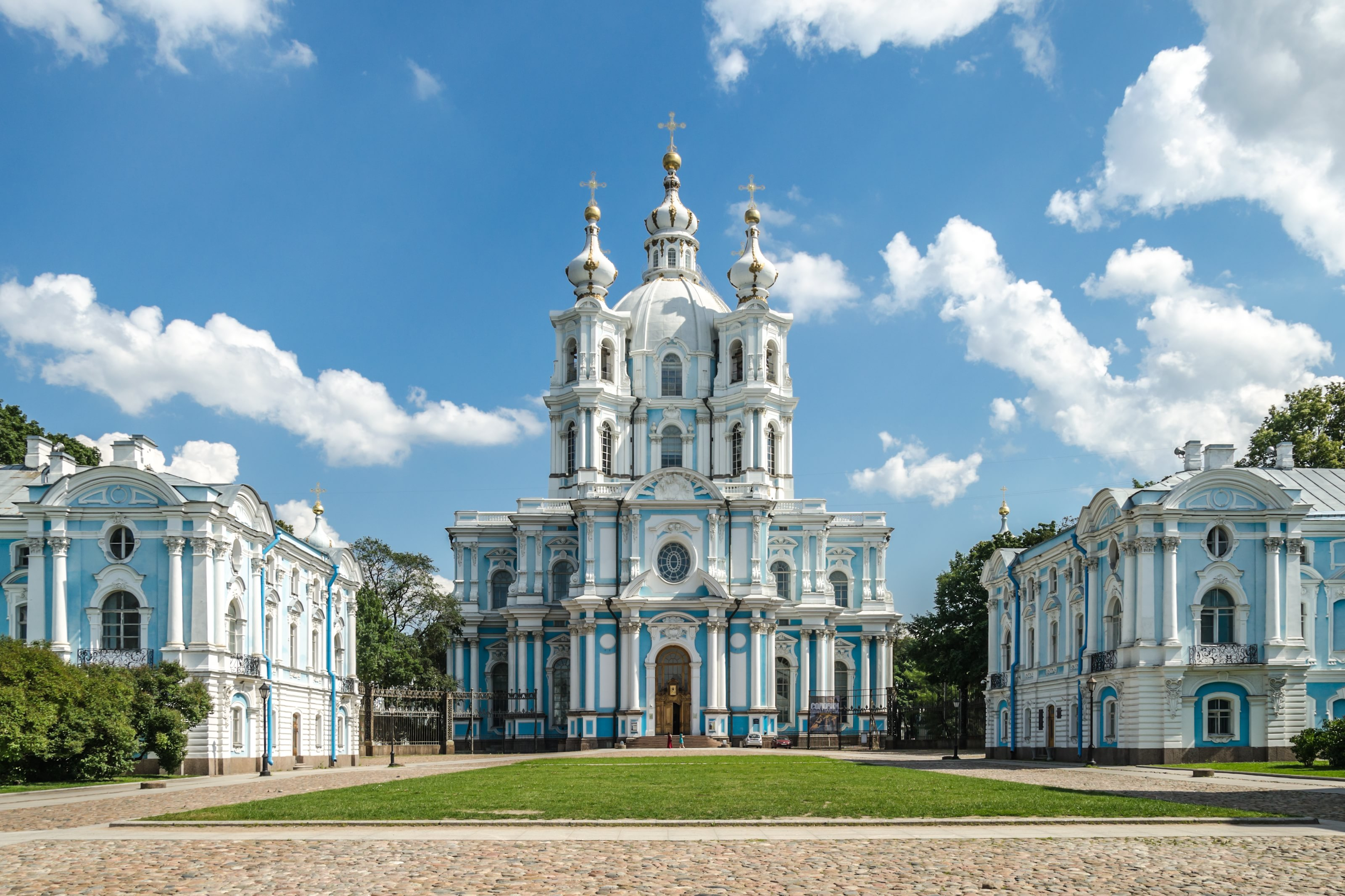 A Look At Russian Architecture: Смольный Собор - Smolny Cathedral ...