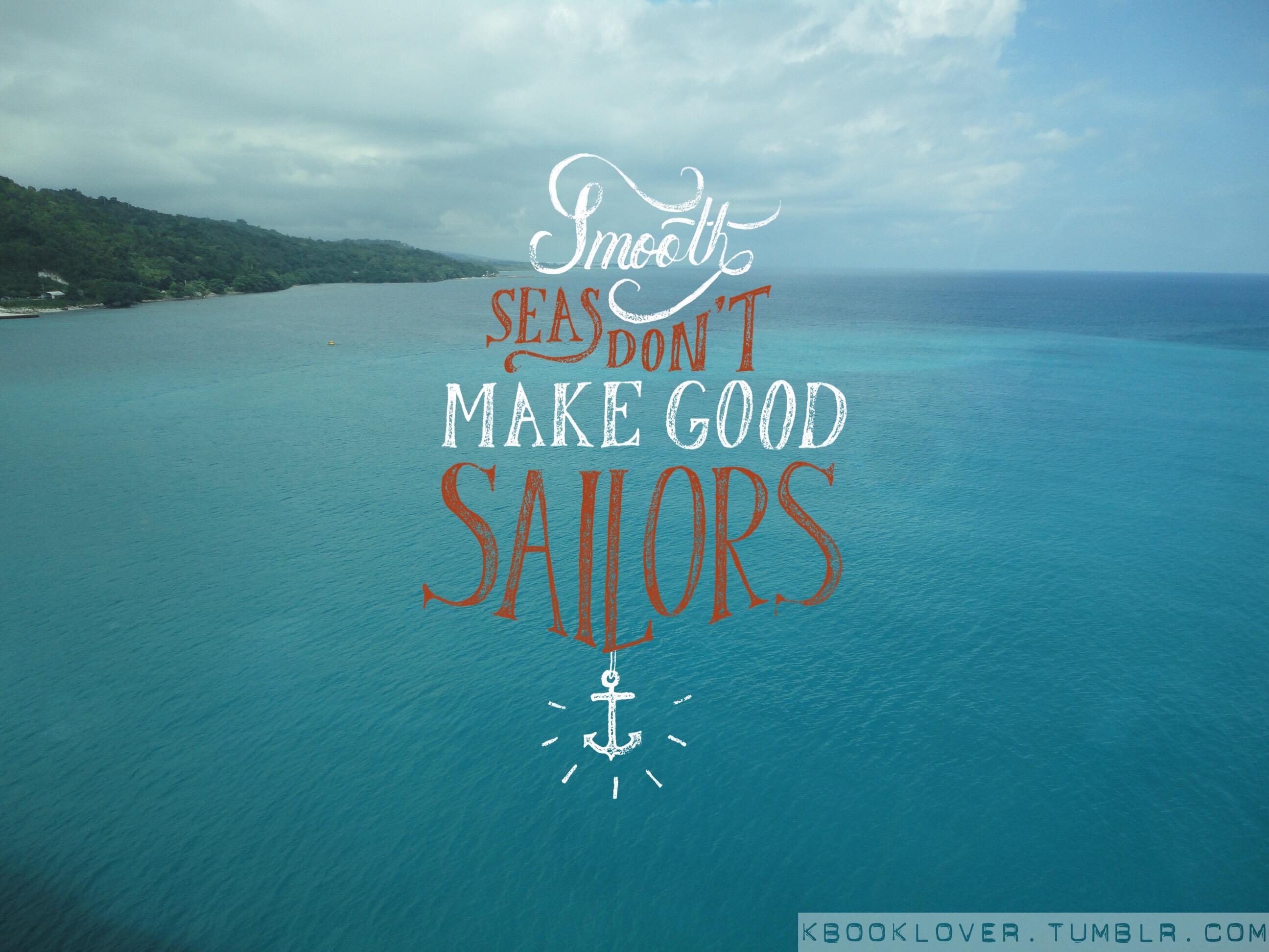 Smooth sea photo