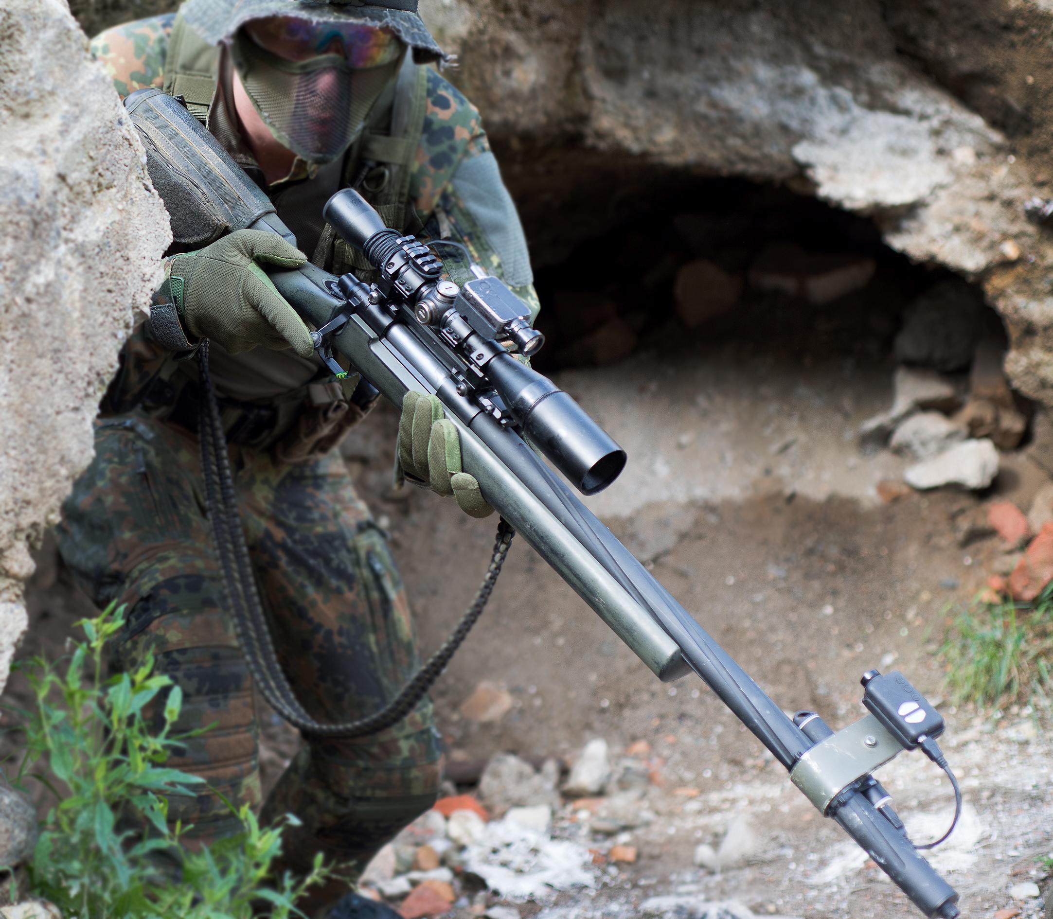 SSG24 (Silo's sniper rifle) - Silo Entertainment