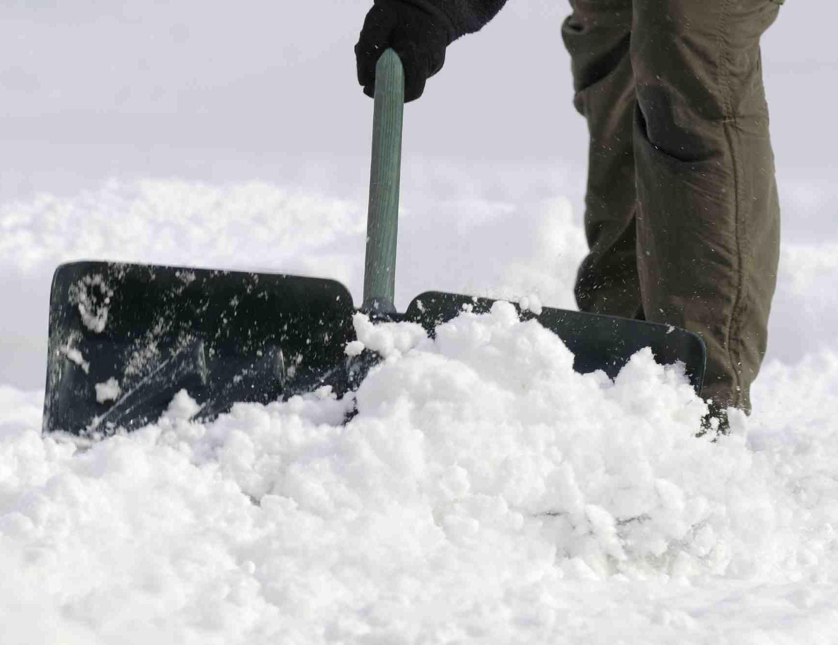 Snow clearance photo