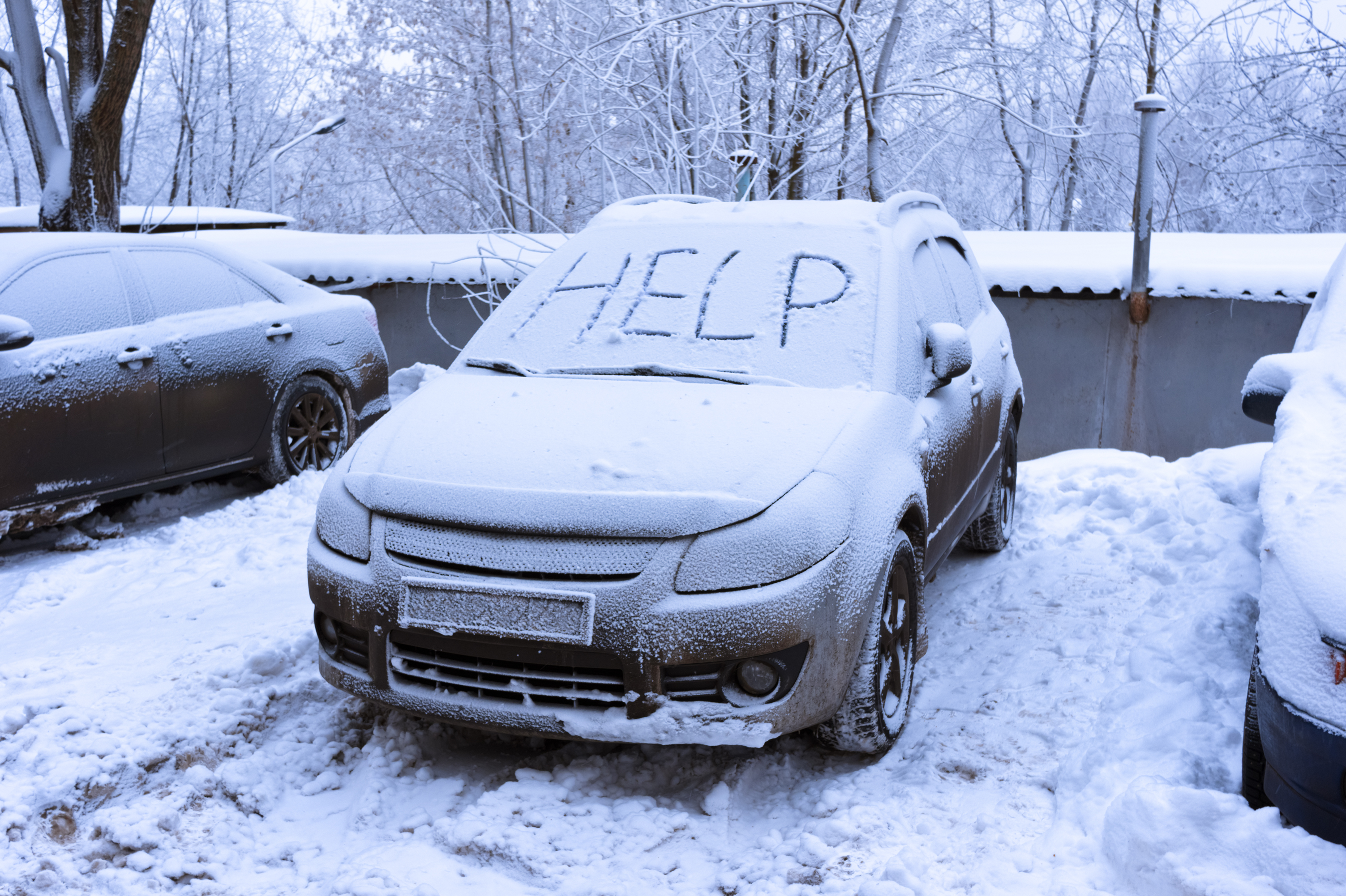 Word help on snow covered car | Kansas City Bone & Joint Clinic
