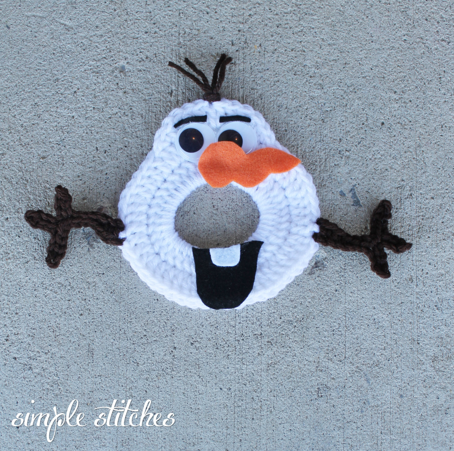 Olaf the Snowman Camera Lens Buddy