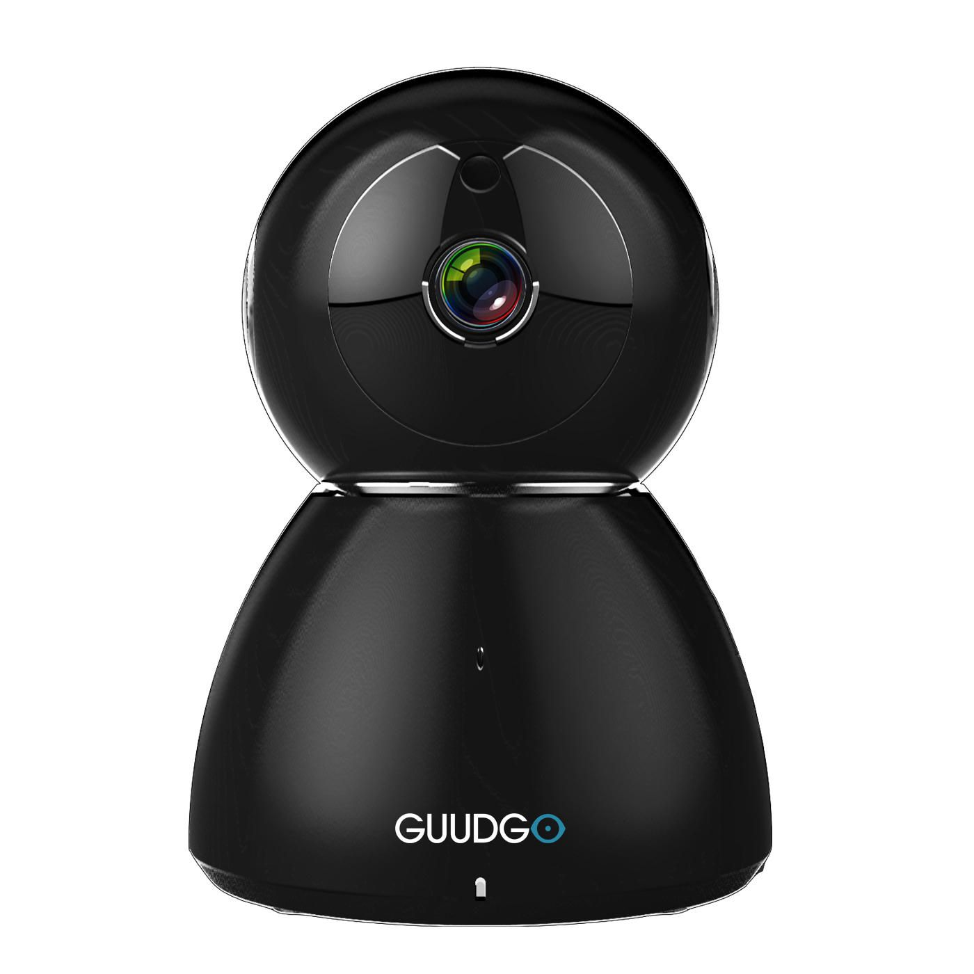 GUUDGO GD-SC03 Snowman 1080P Cloud WIFI IP Camera Black Pan&Tilt IR ...