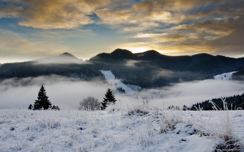 Snowy Hills 746669 - WallDevil
