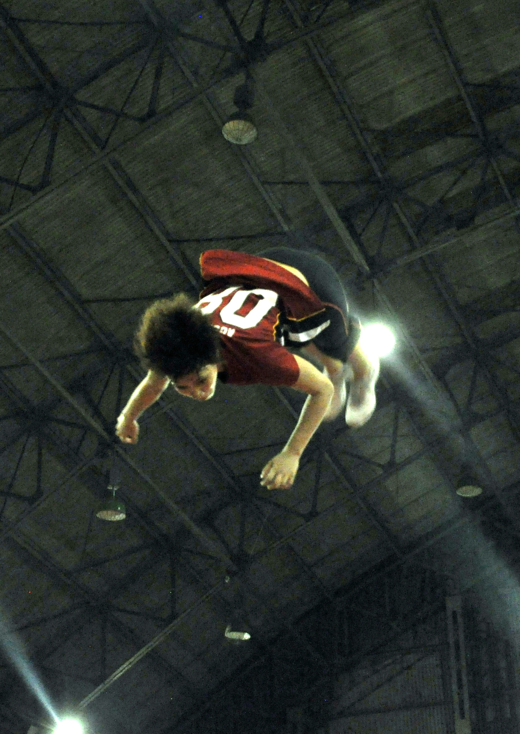 Soaring High, Above, Boy, Flying, Person, HQ Photo