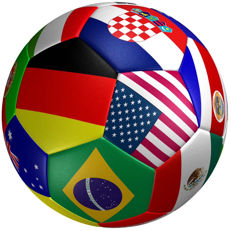 Soccer Ball Flag 3D model   CGTrader