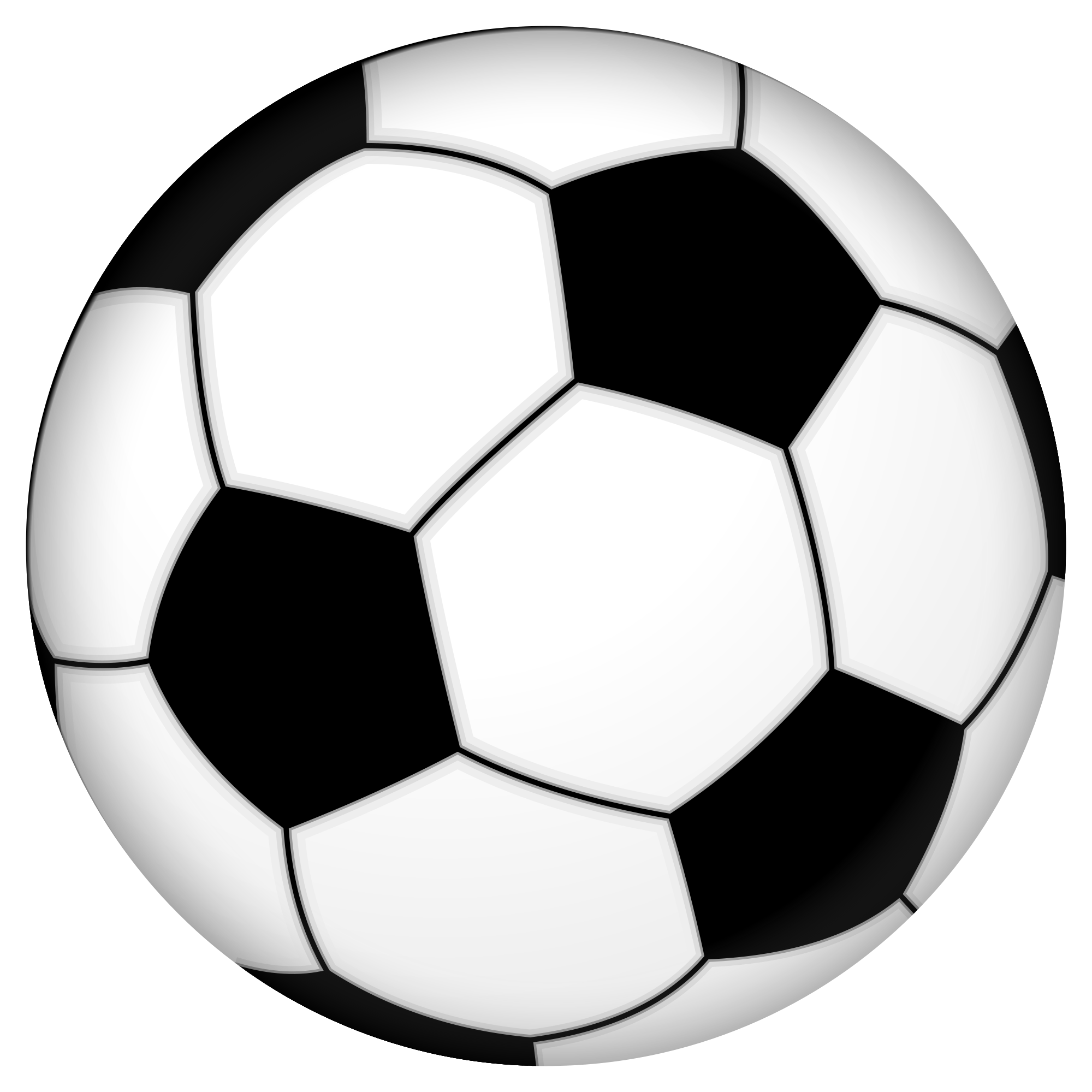 File:Soccer ball.svg - Wikimedia Commons