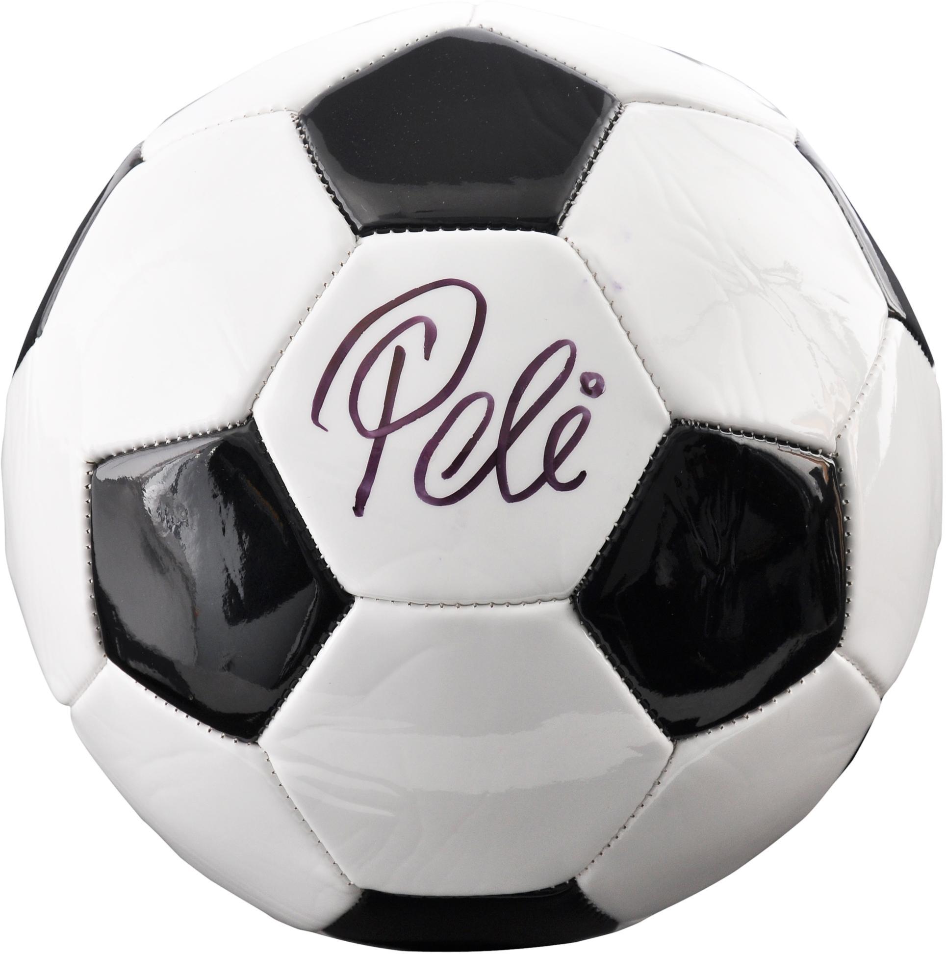 Pele Brazil Autographed Baden Soccer Ball