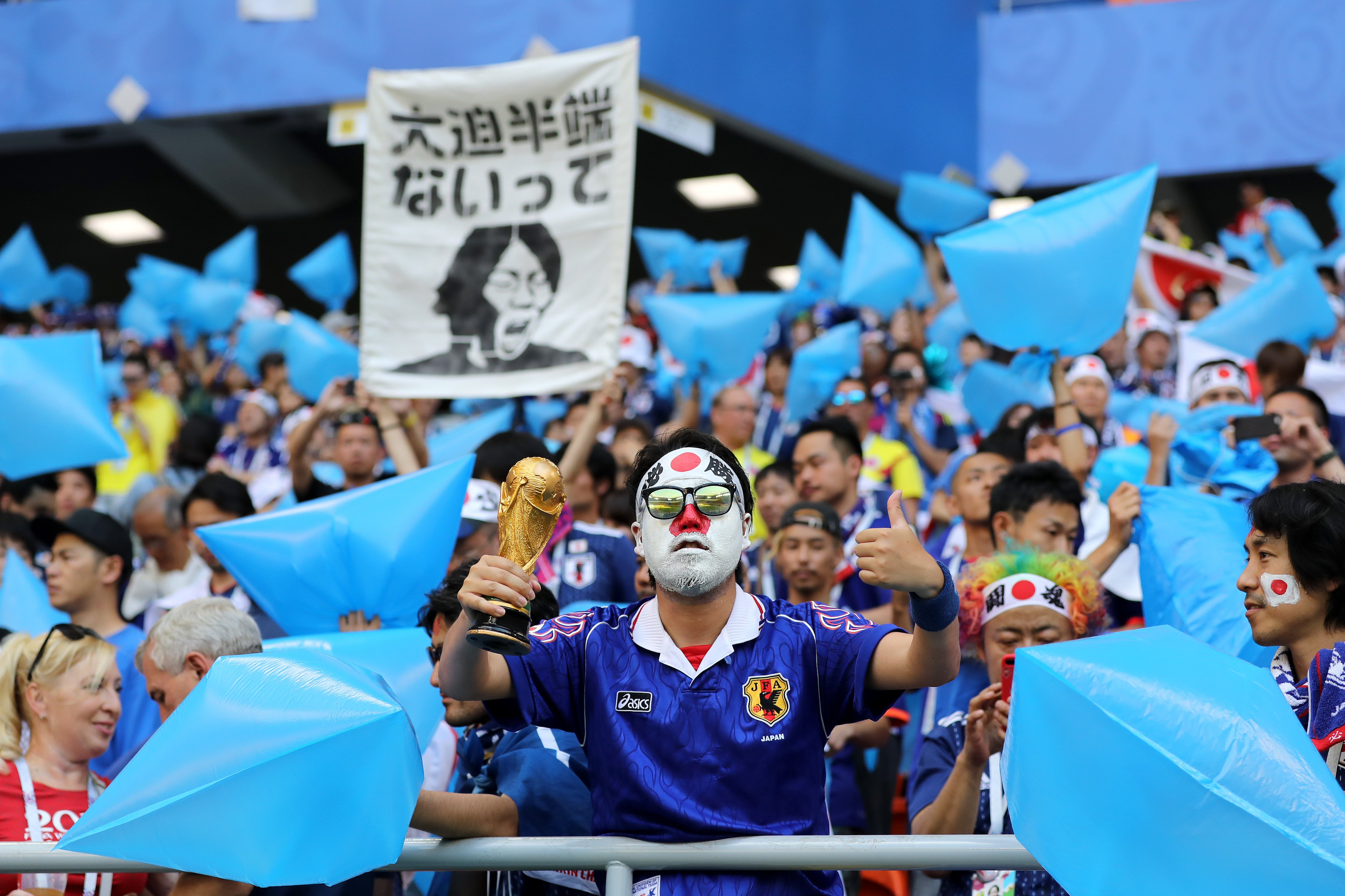 Everyone Is Cheering for These Japanese Soccer Fans Who Cleaned Up ...