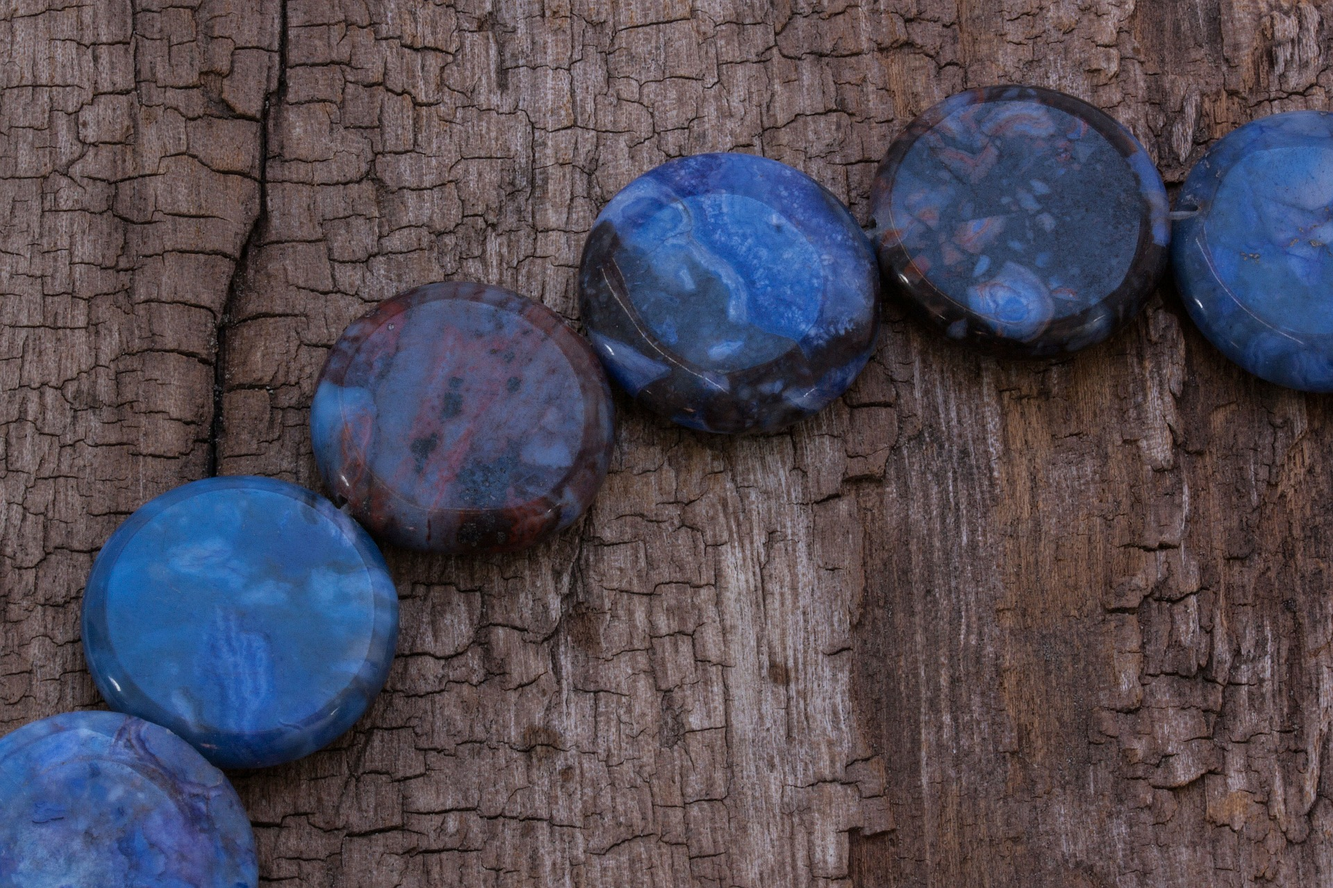 Sodalite, Mineral, Object, Texture, Wood, HQ Photo