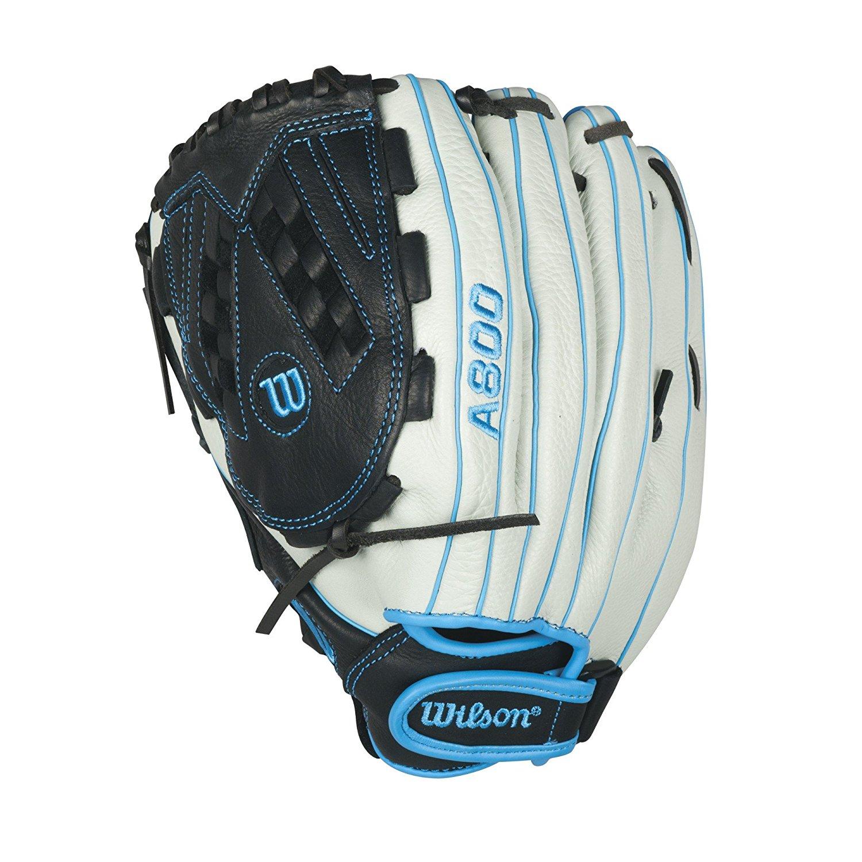 Amazon.com : Wilson Aura Game Ready Fastpitch Softball Gloves, Ivory ...