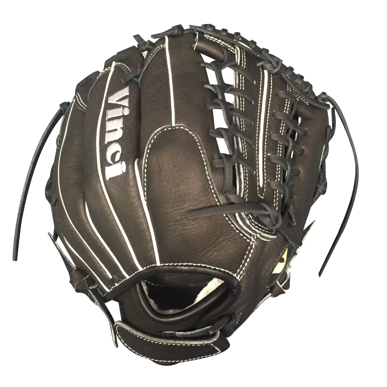 Fortus Series Black 12.5 Inch Fielders Glove - Baseball Gloves ...