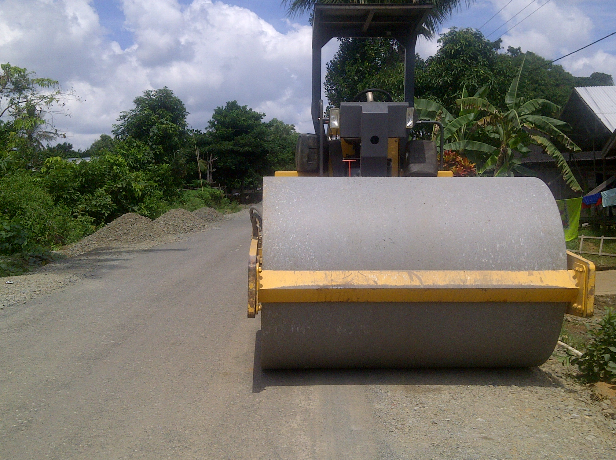 Soil compaction, Compaction, Construction, Establishment, Project, HQ Photo