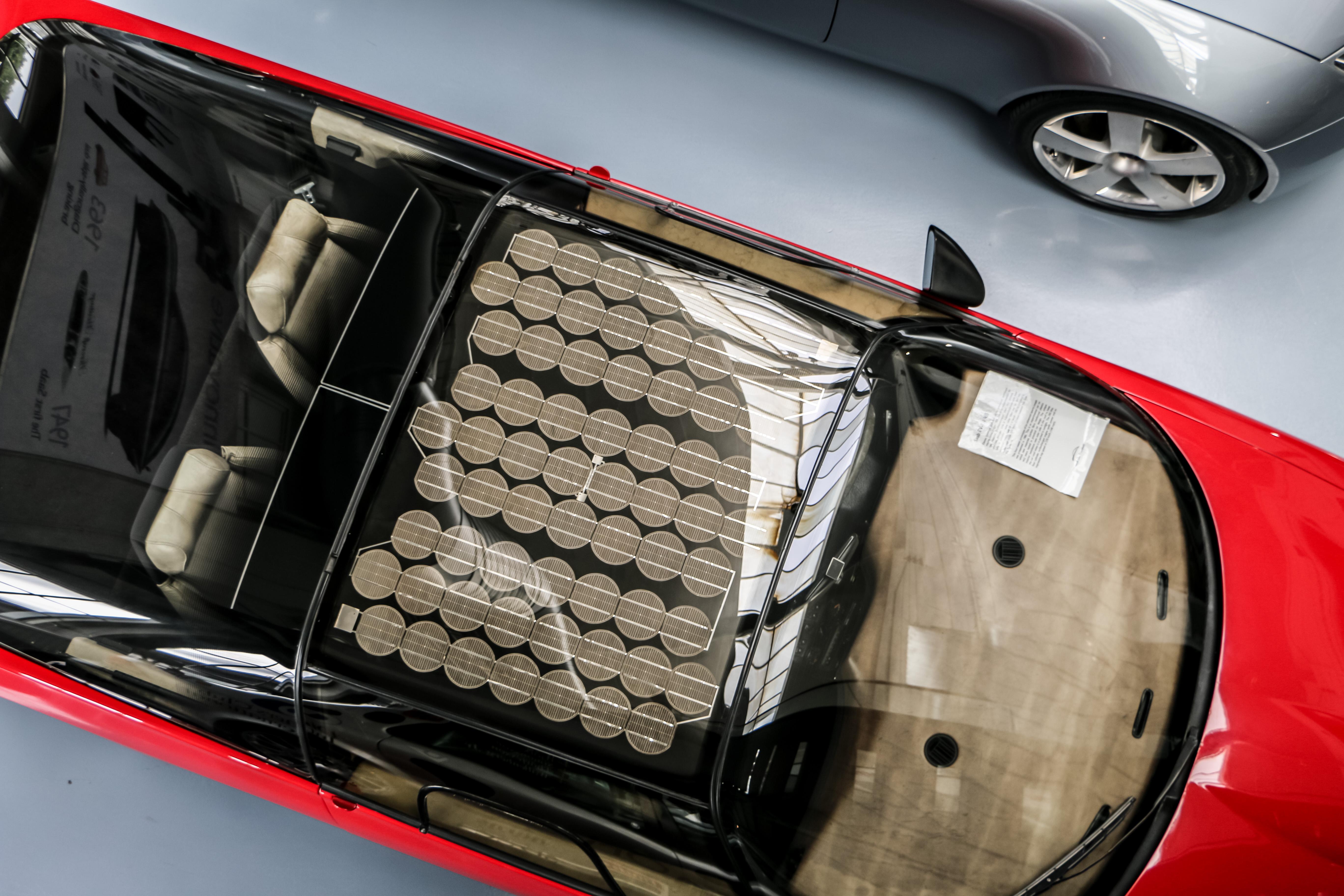 Solar Saab, Auto, Battery, Car, Energy, HQ Photo
