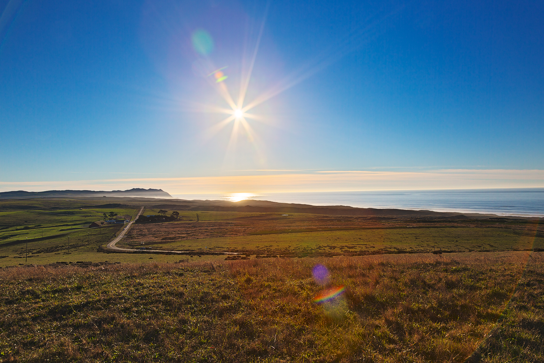 Solar sentinel of point reyes - hdr photo