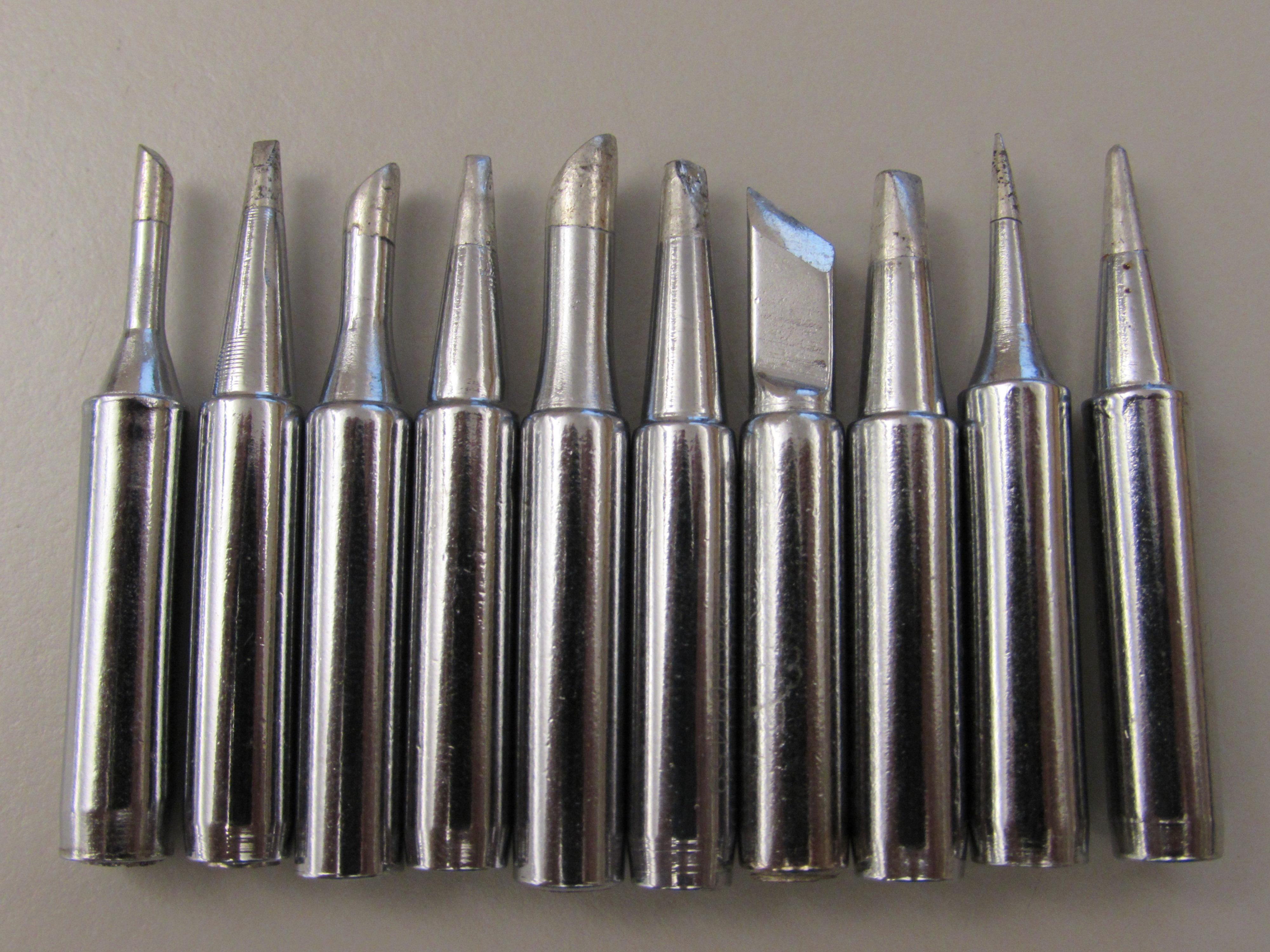 Soldering iron tip photo