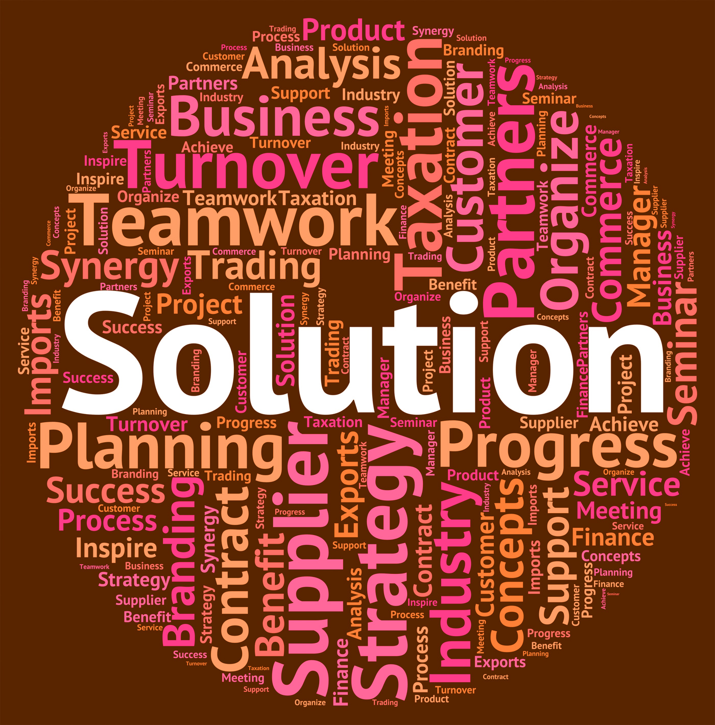 Solution Word Represents Succeed Solving And Successful, Achievement, Succeed, Wordclouds, Wordcloud, HQ Photo