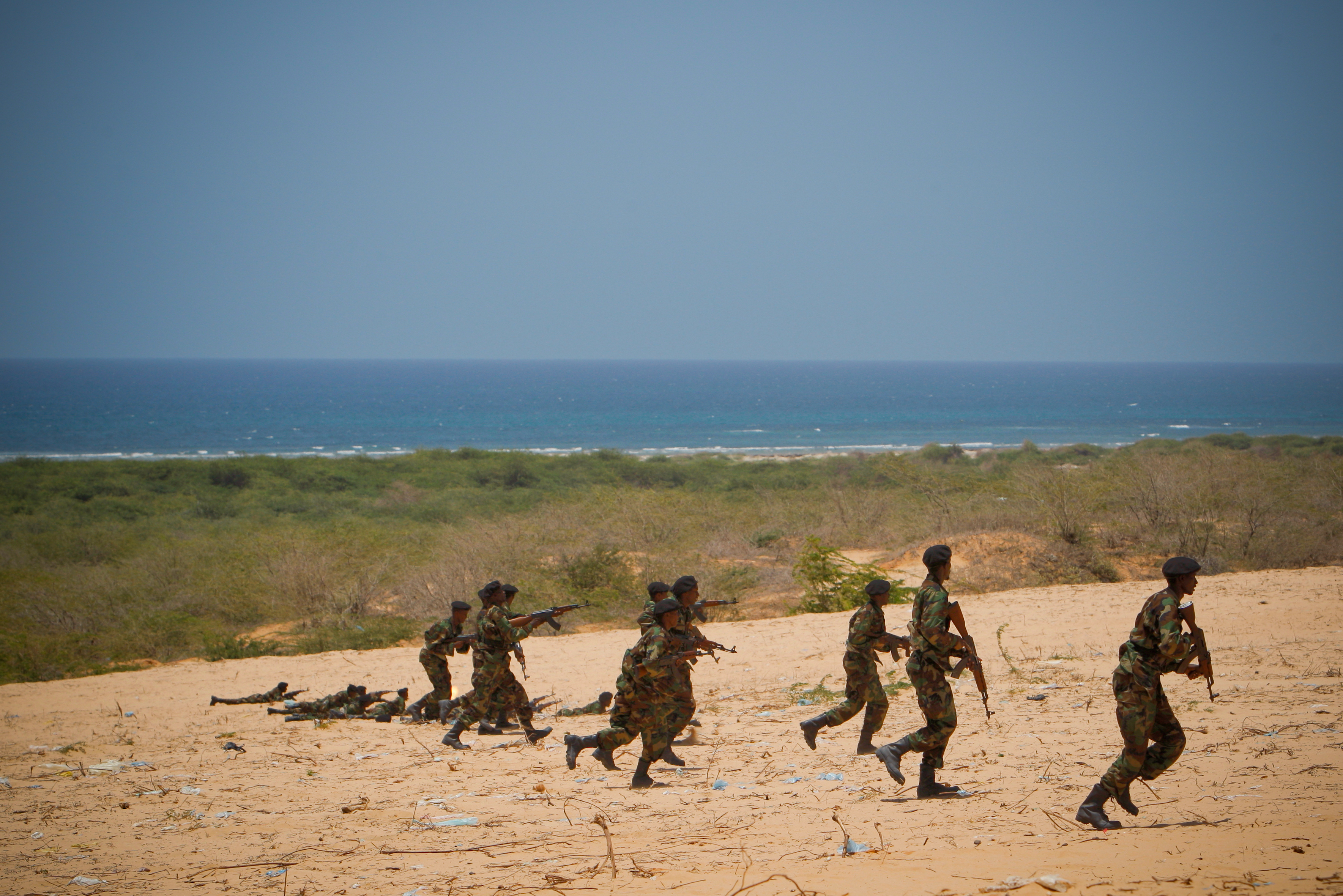 Somali national army training pass-out parade 07 photo