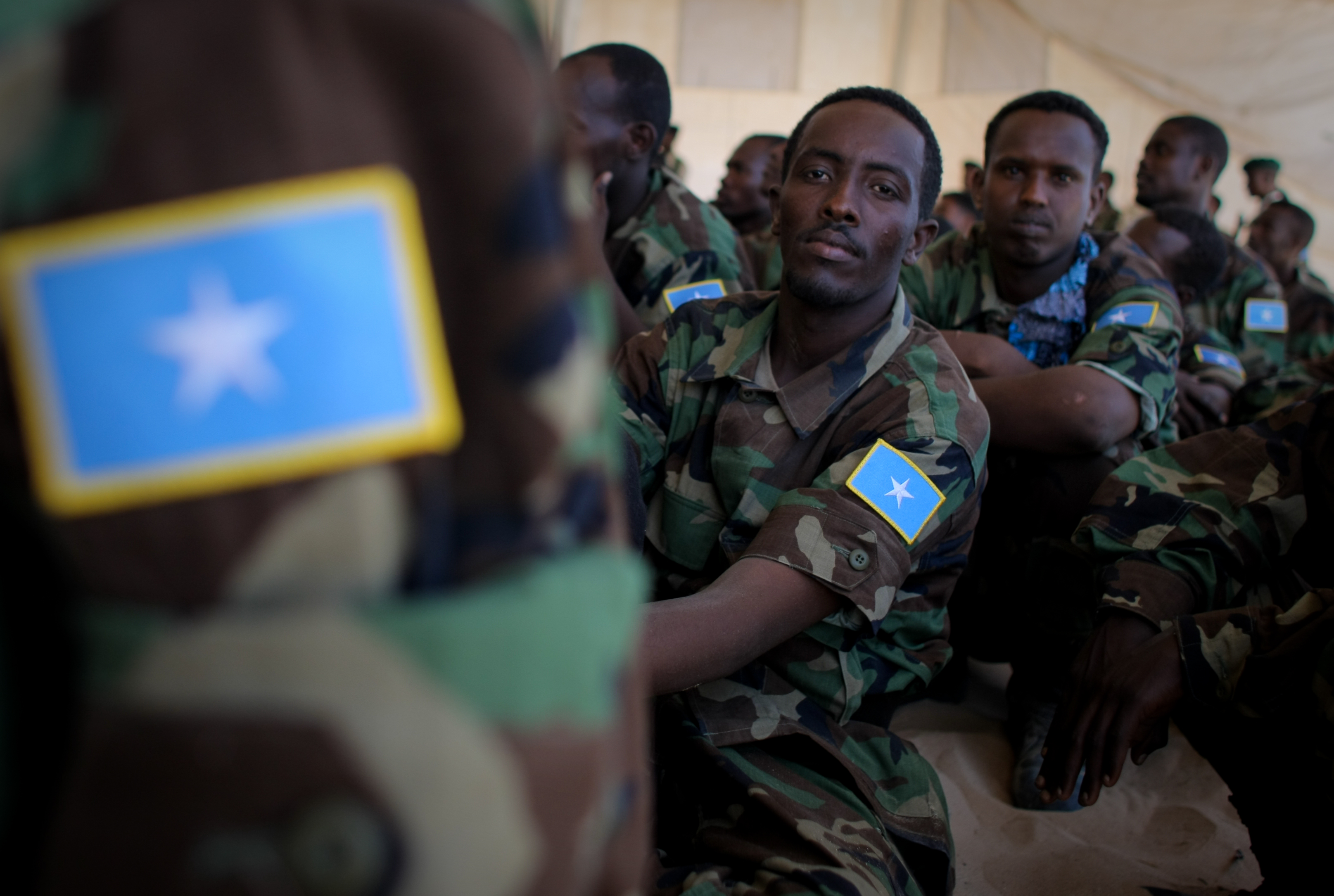 Somali national army training pass-out parade 23 photo