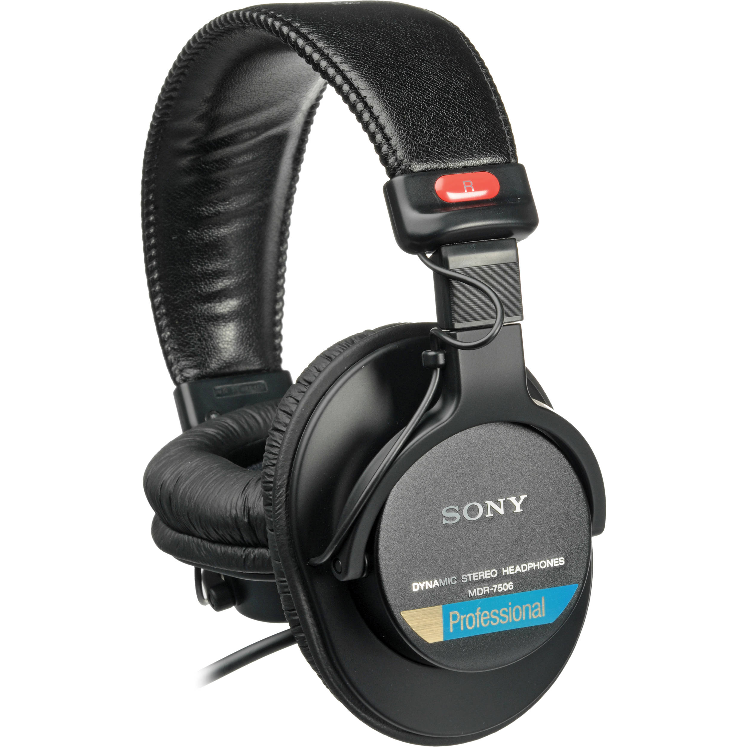Sony MDR-7506 Closed Cup Stereo Headphones - Masque Sound