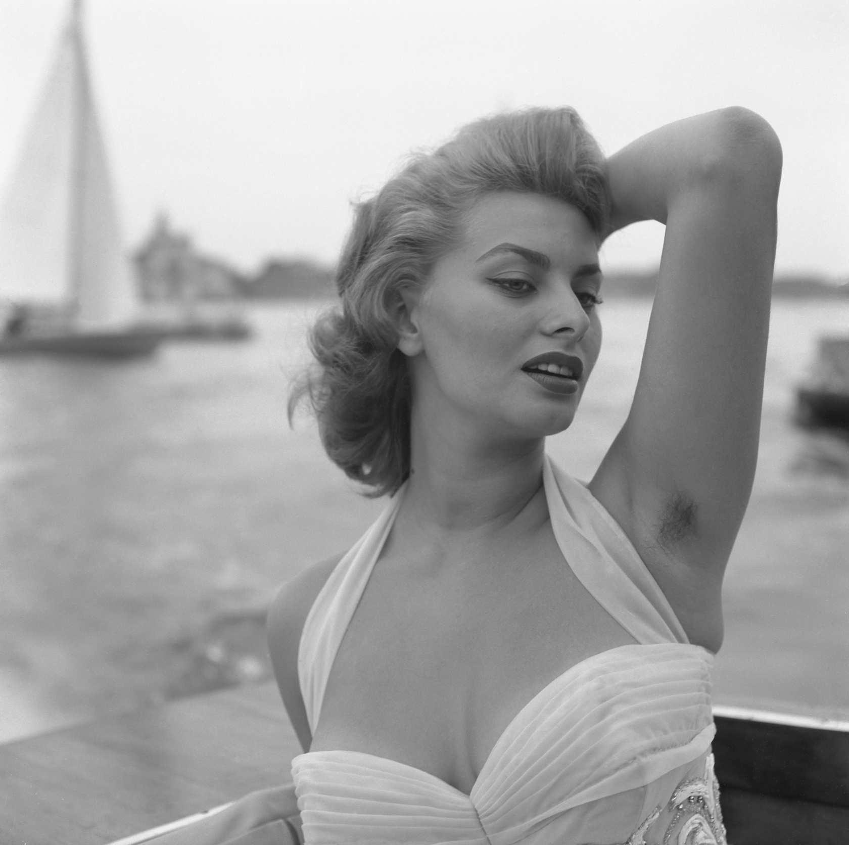 Sophia Loren - 16 Amazing Women With Armpit Hair - The Cut