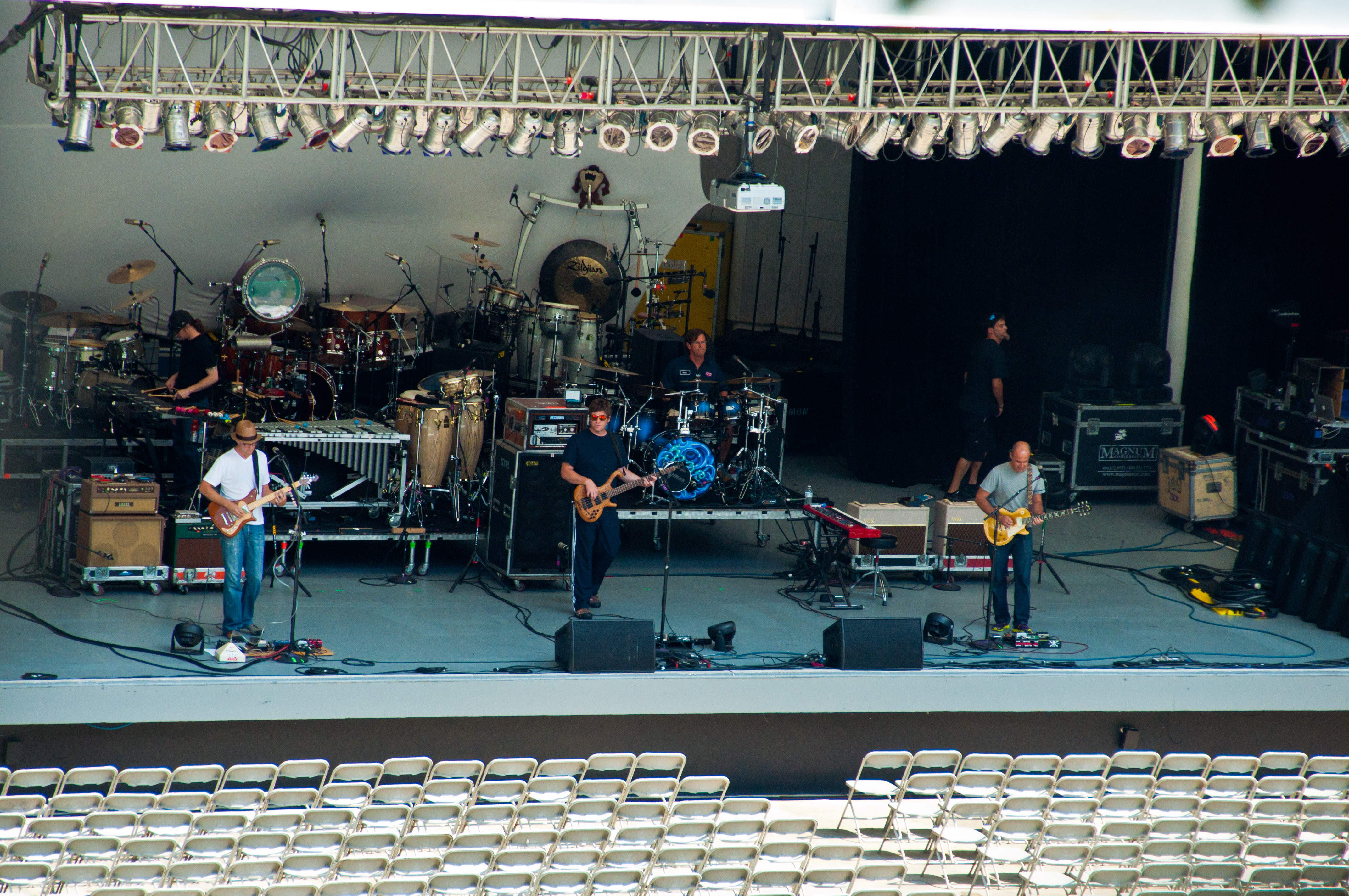 Moe. Sound Check in Chastain Park Amphitheater | The Chastain Park ...