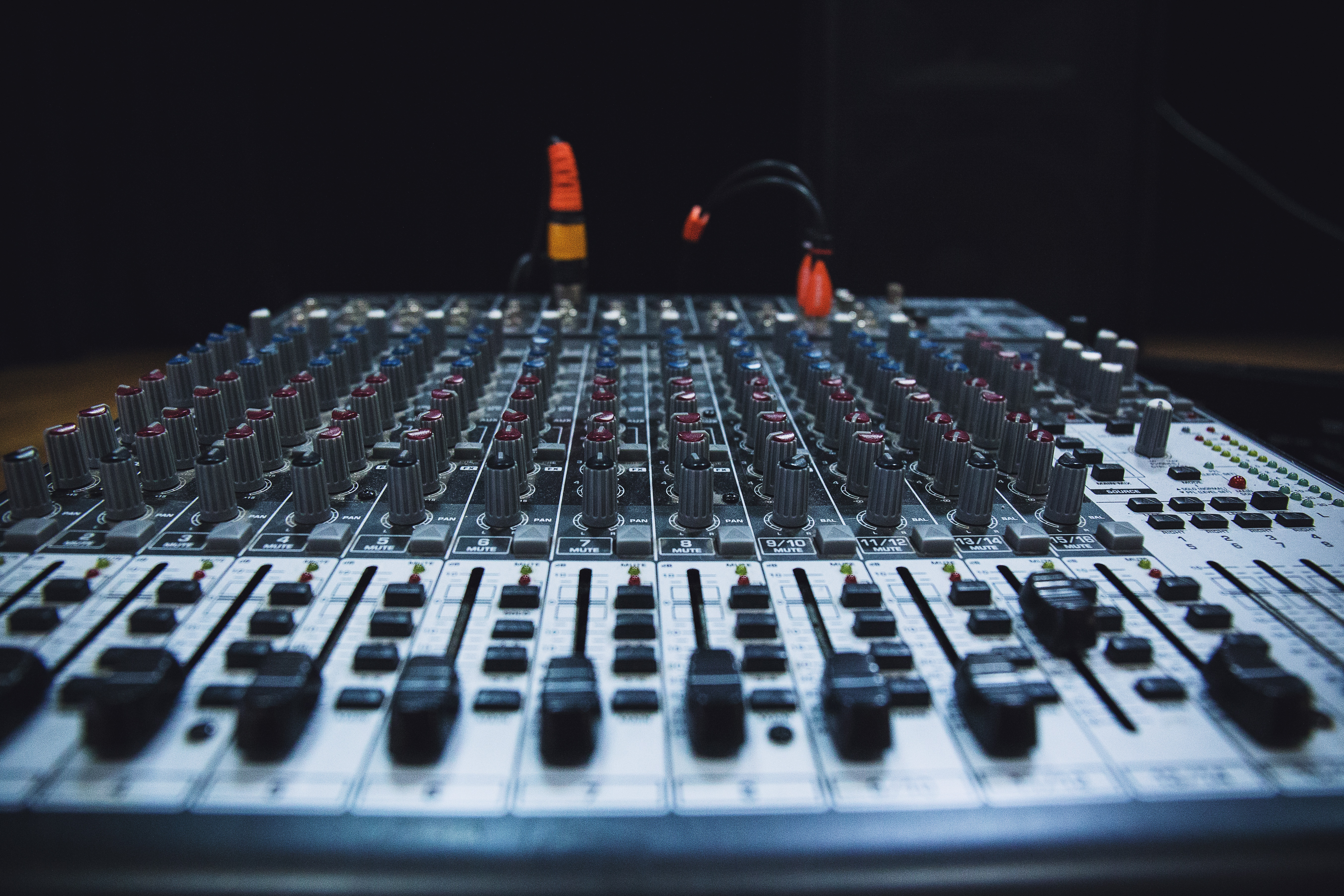 Sound Check, Bass, Check, Control, Music, HQ Photo