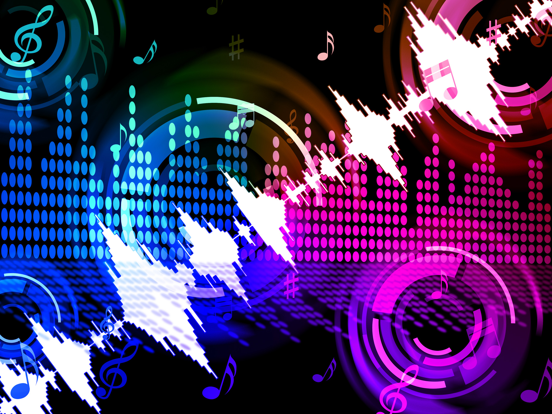 Free Photo Sound Wave Background Means Audio Amplifier Or Music Mixer Abstract Graphic Volume Free Download Jooinn