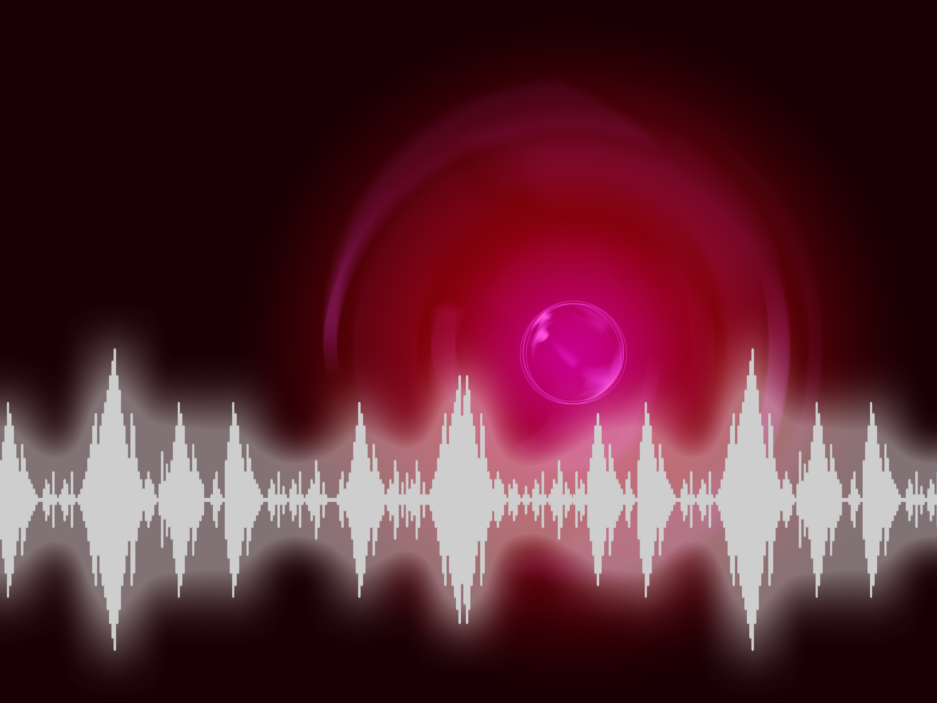 Sound wave background means audio frequency or analyzer photo