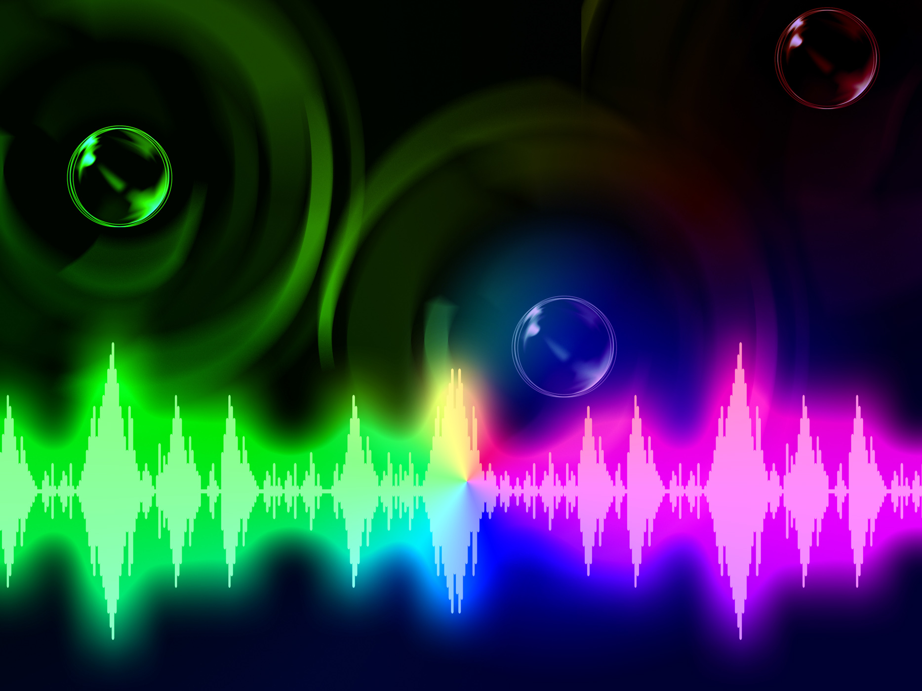 Sound wave background means music volume or amplifier photo