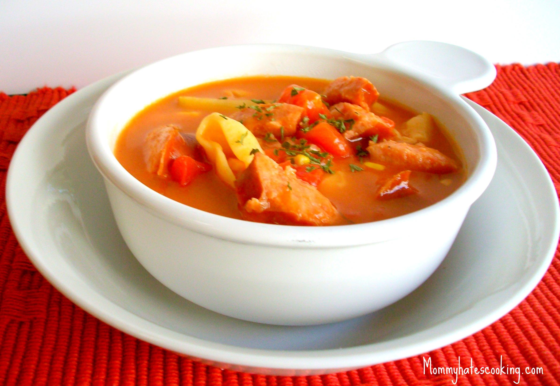 Soup dish photo