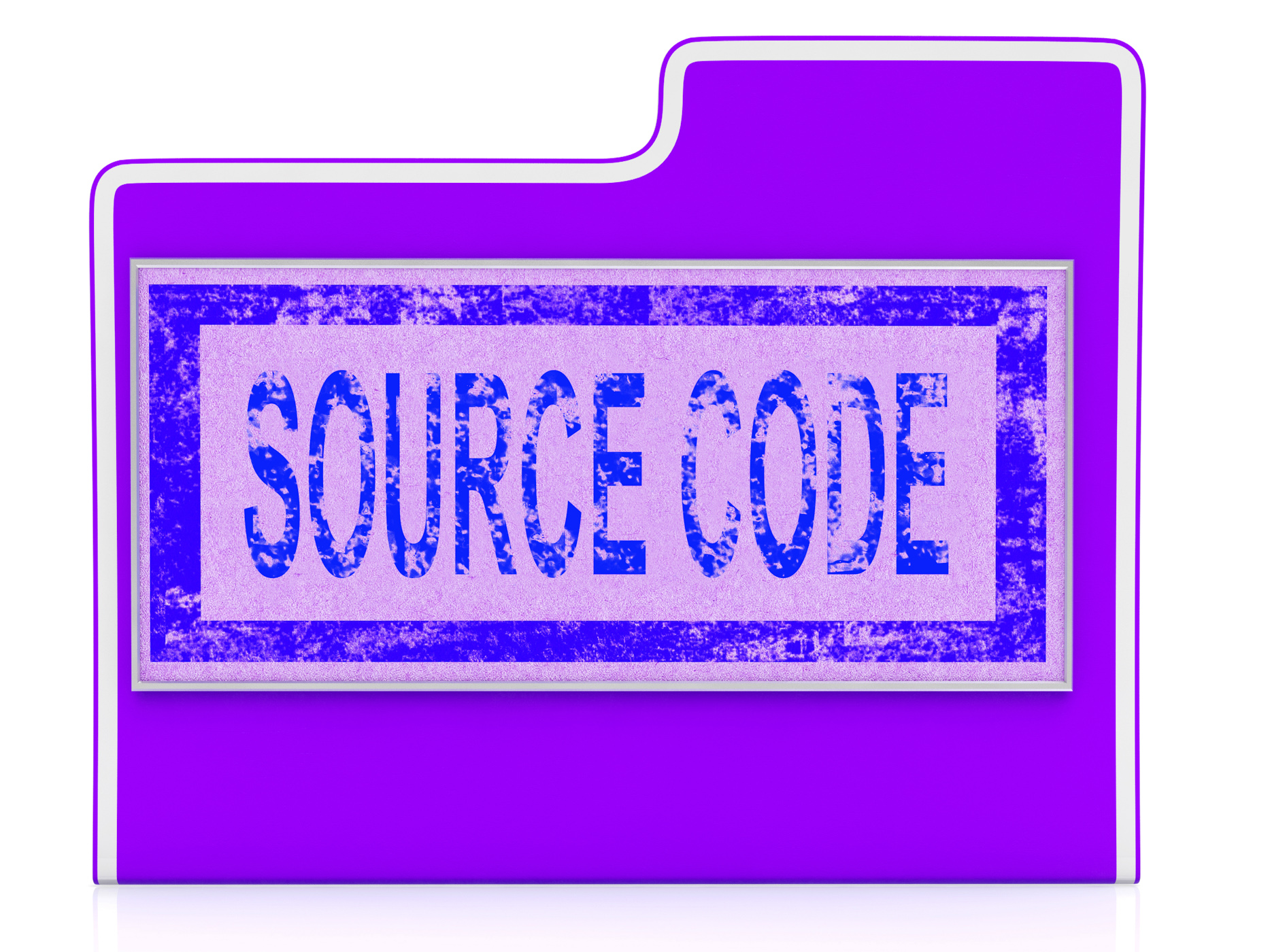 Source code indicates administration organized and computer photo