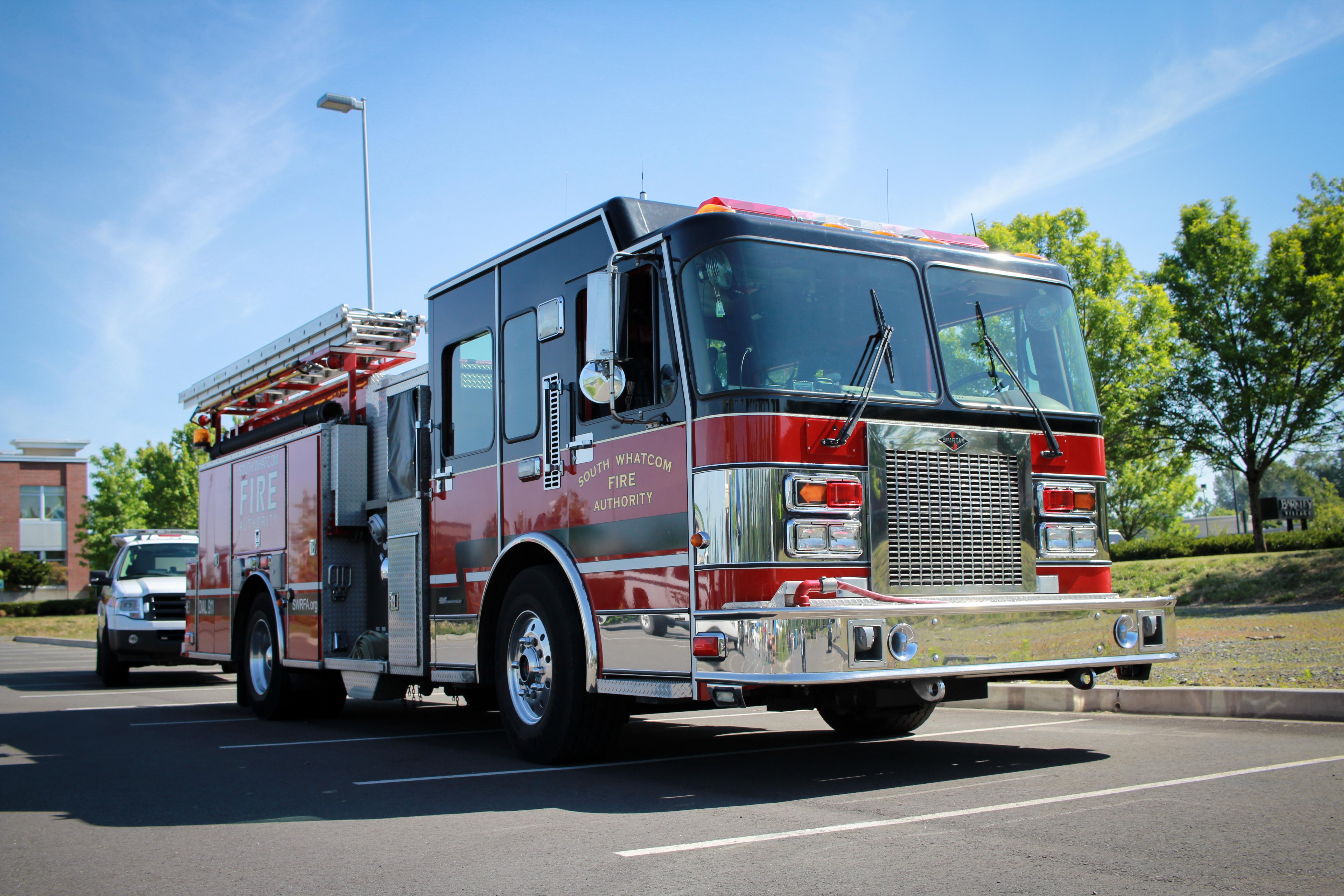 South whatcom fire authority engine photo