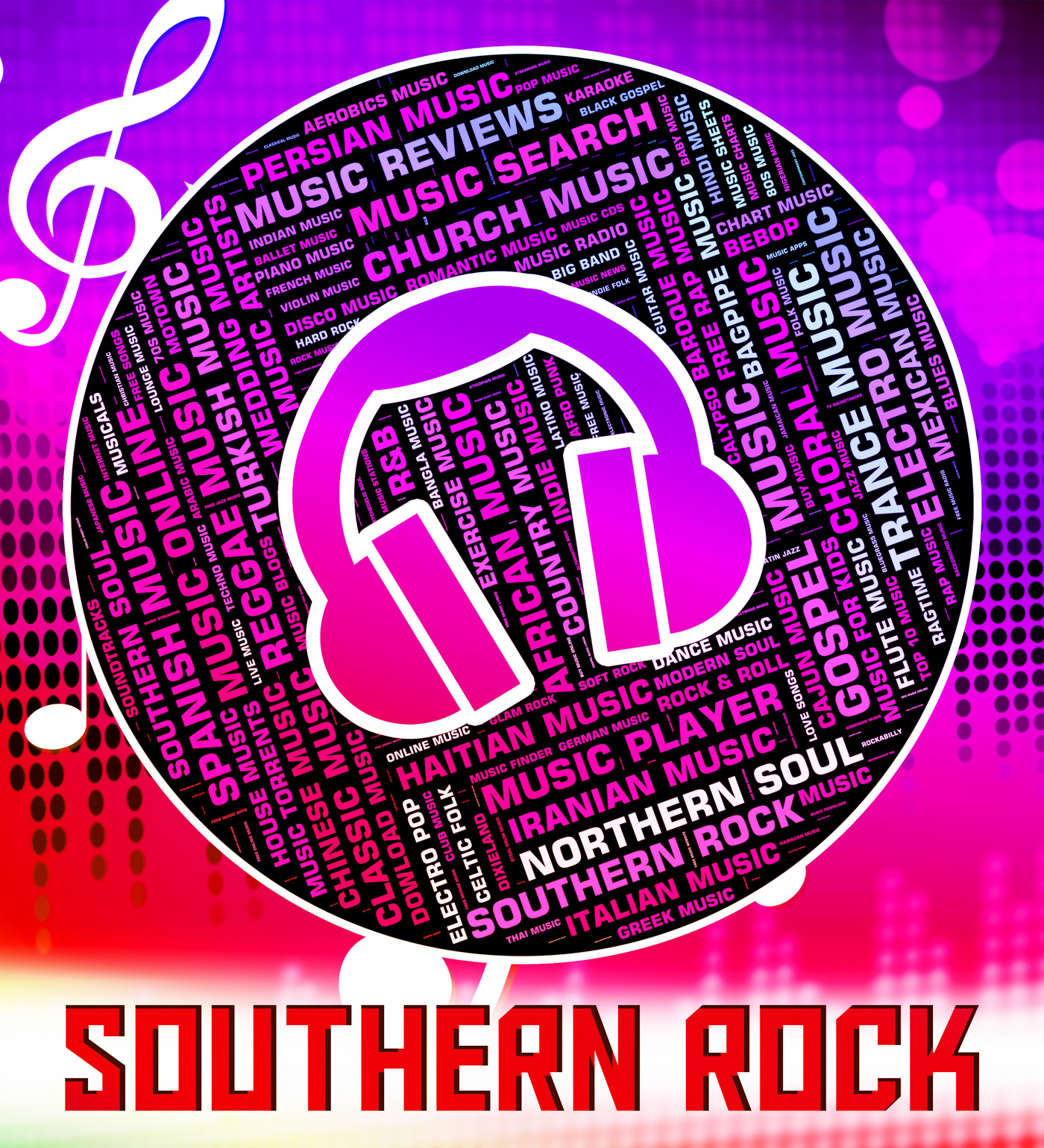 Southern rock shows electric guitar and harmony photo