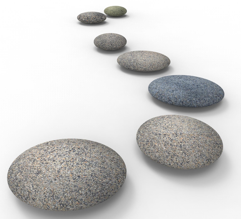Spa stones indicates love not war and balance photo