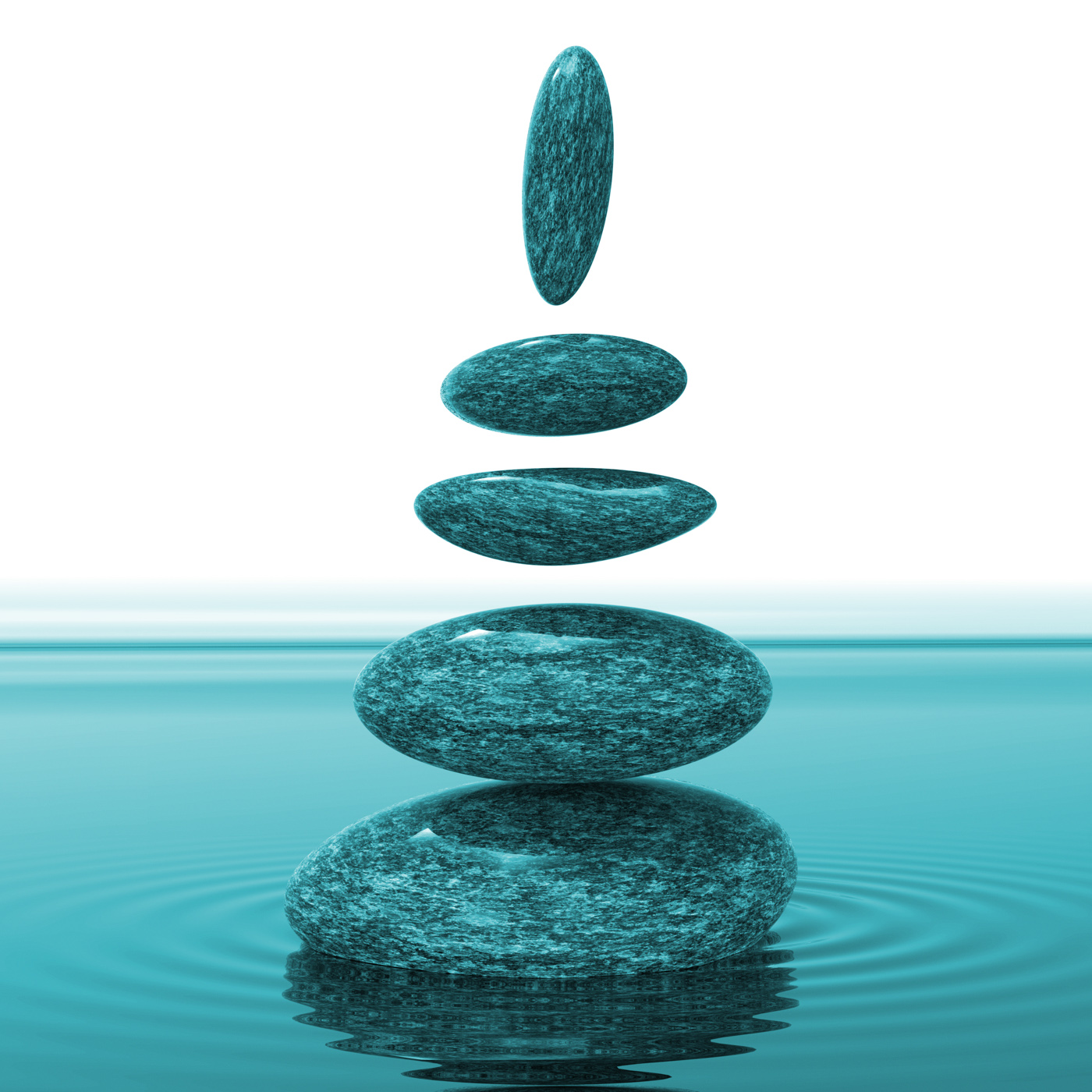 Spa stones means balance tranquility and calmness photo