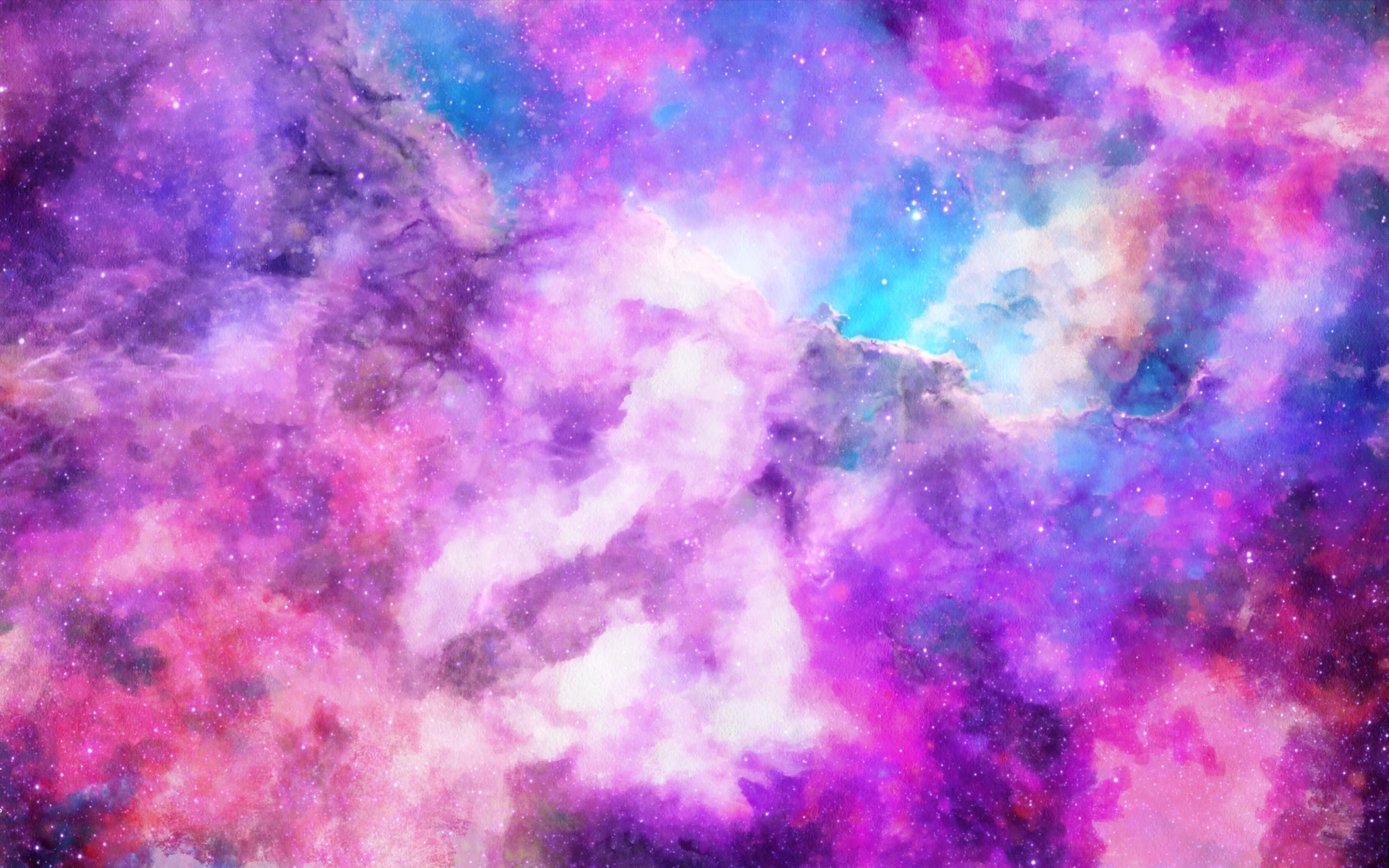 Space, Abstract, Outer, Hydrogen, Indigo, HQ Photo