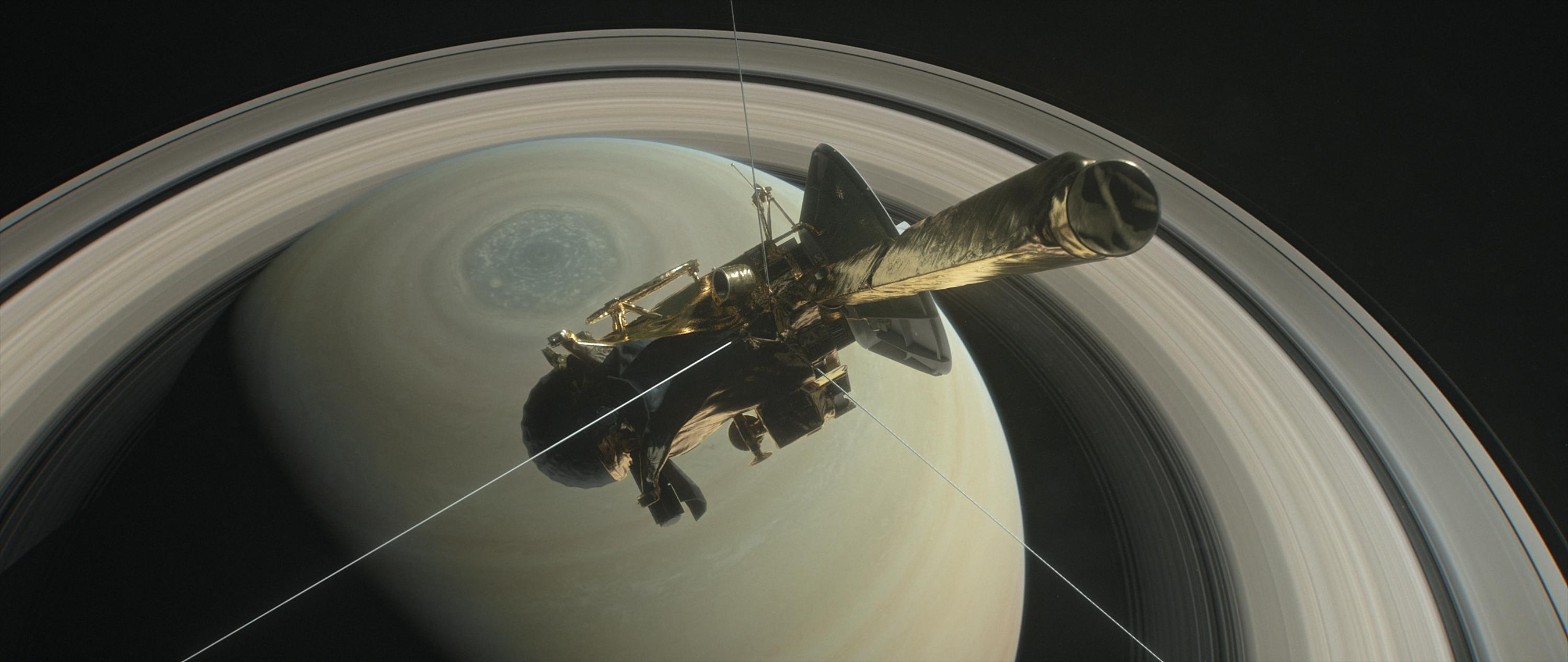 Cassini Spacecraft Makes Its Final Approach to Saturn | NASA